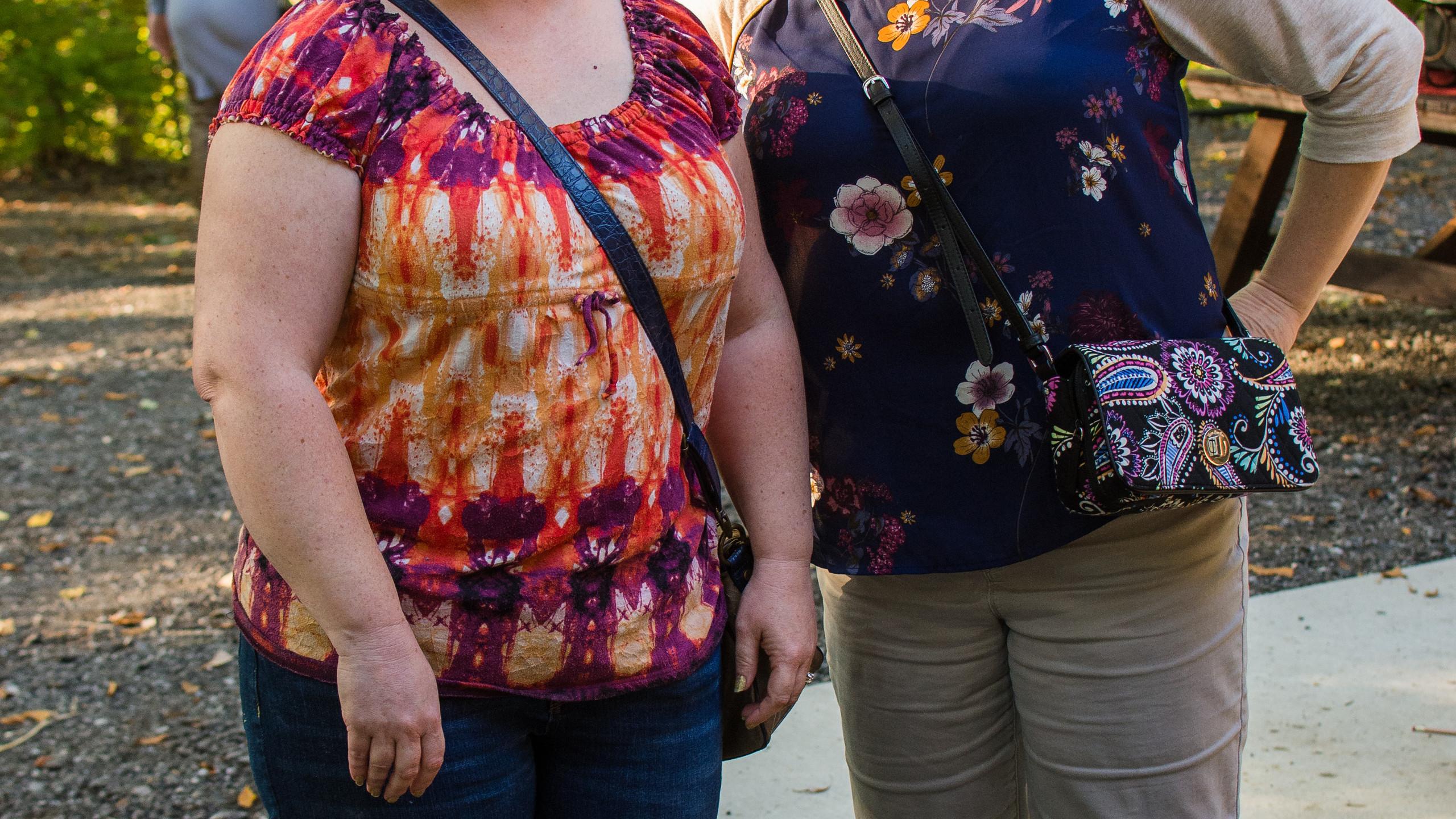 Christine Lindsey and Heather Ingram