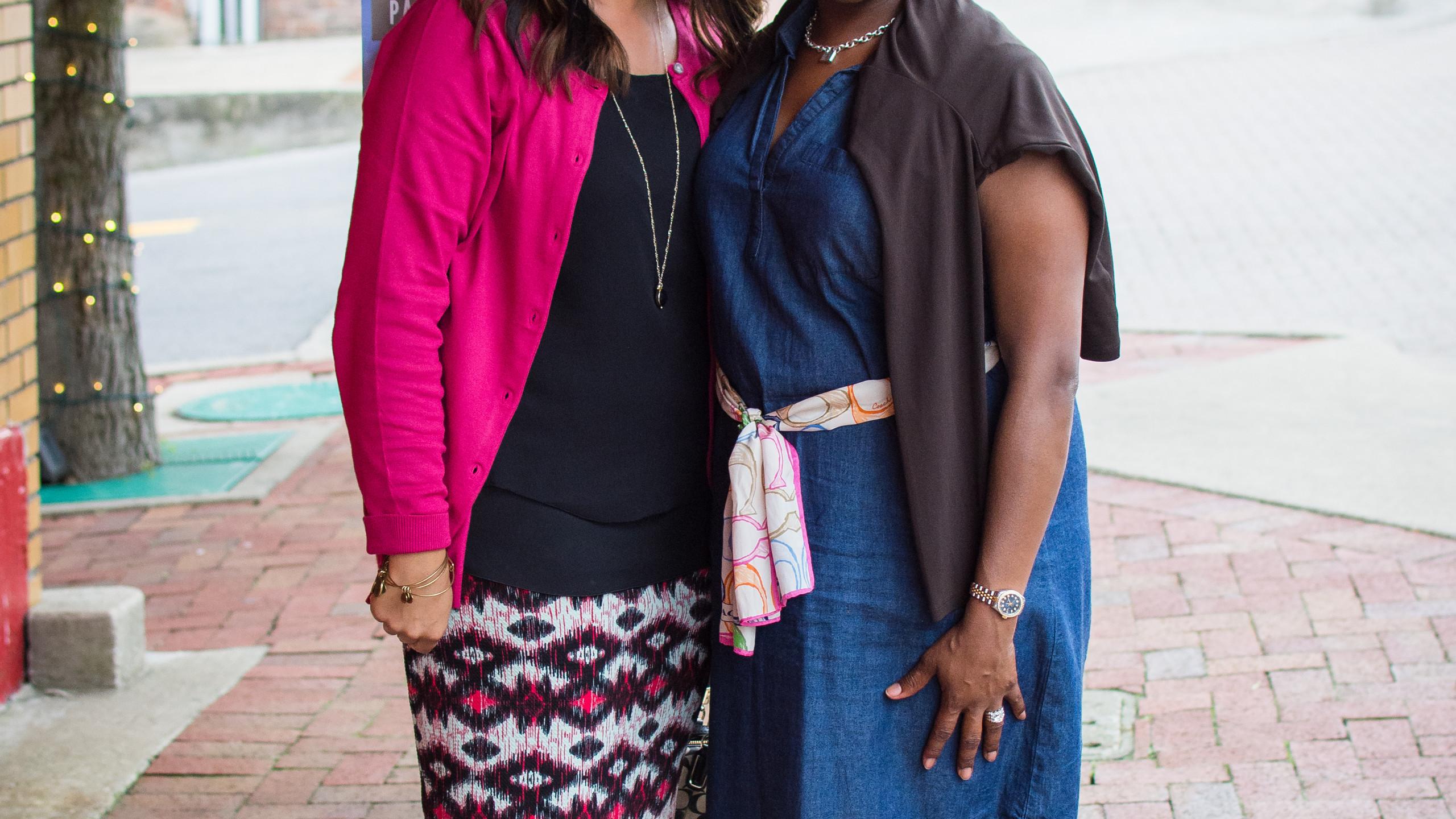 Cheryl Moss and Kimberly Wiggins