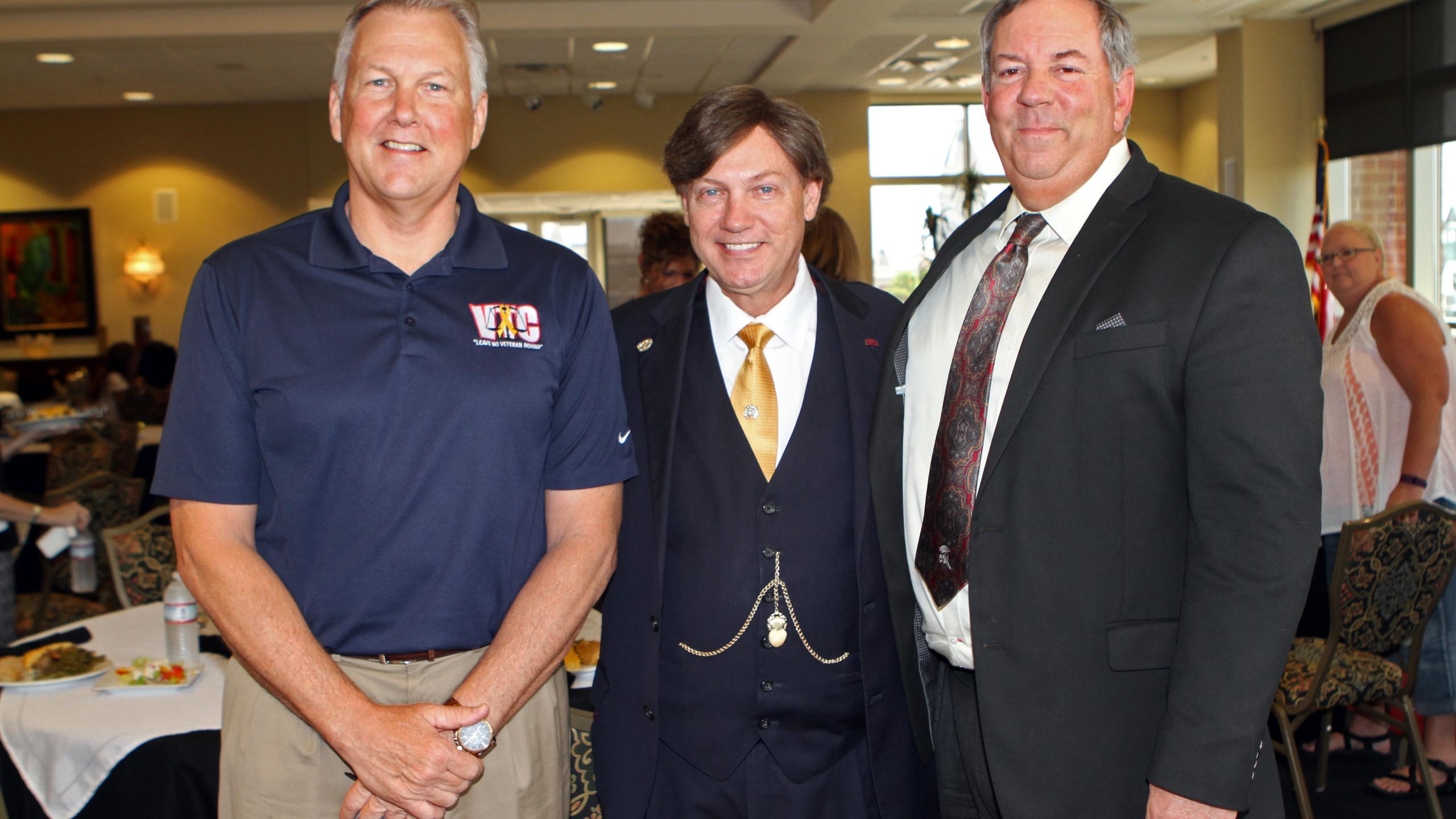 Judge Ken Goble, Kevin Kennedy, Judge Te