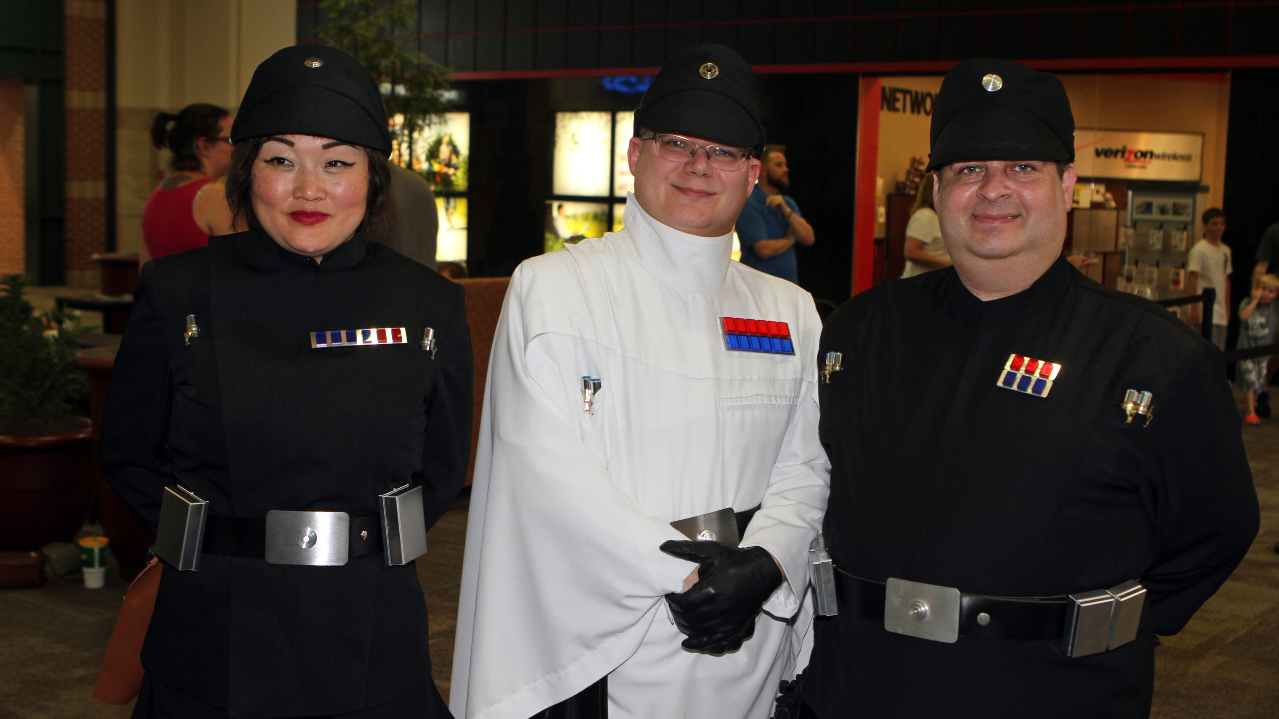 Imperial Officer Mihee Caton,William Pew
