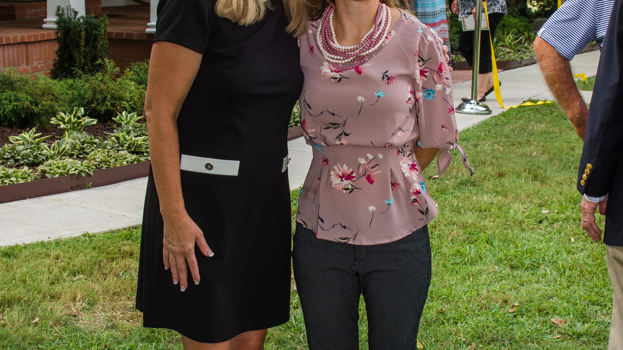 Kim Weade and Ashley Boyd