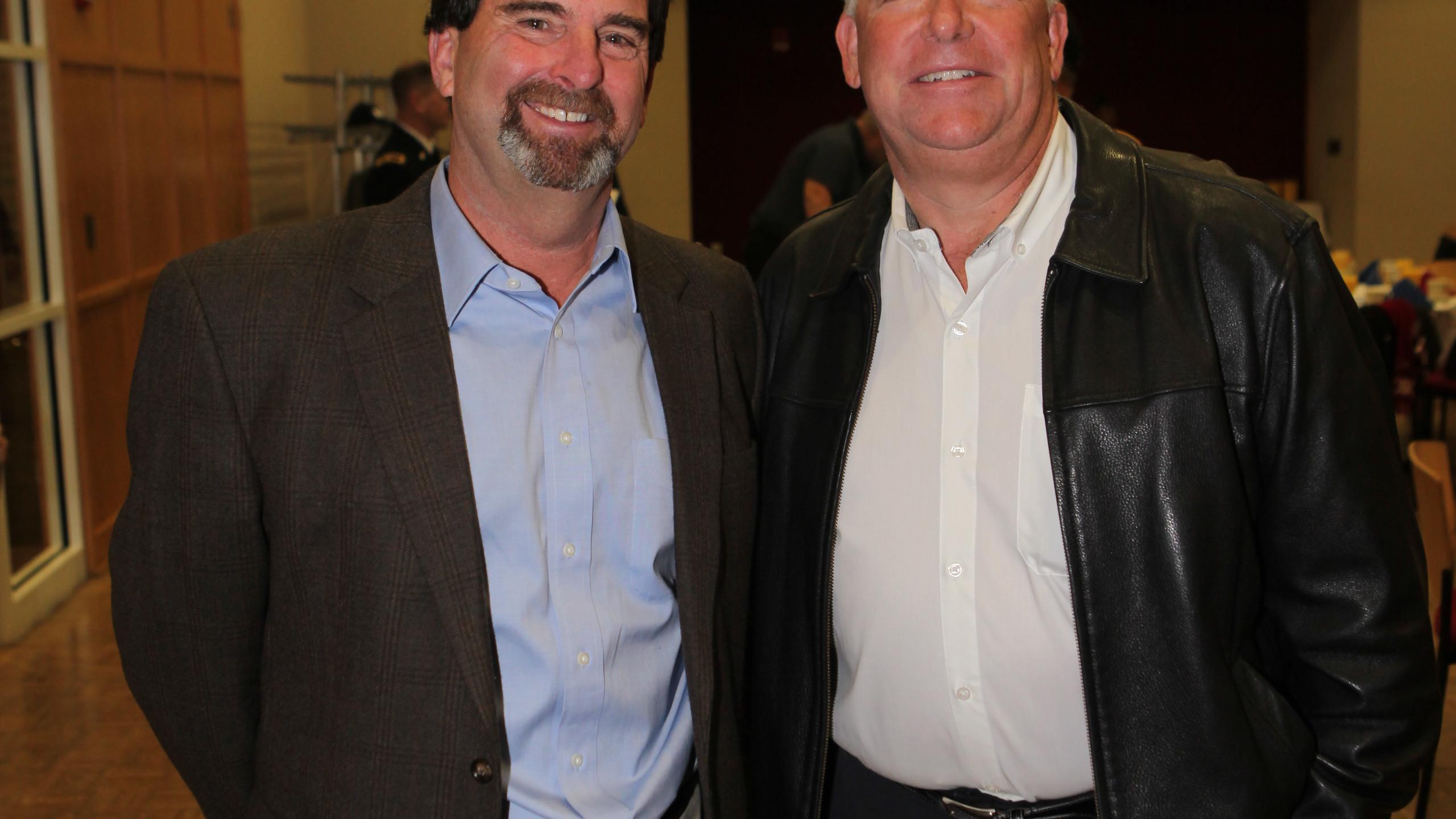 Jeff Burkhart, Todd Harvey