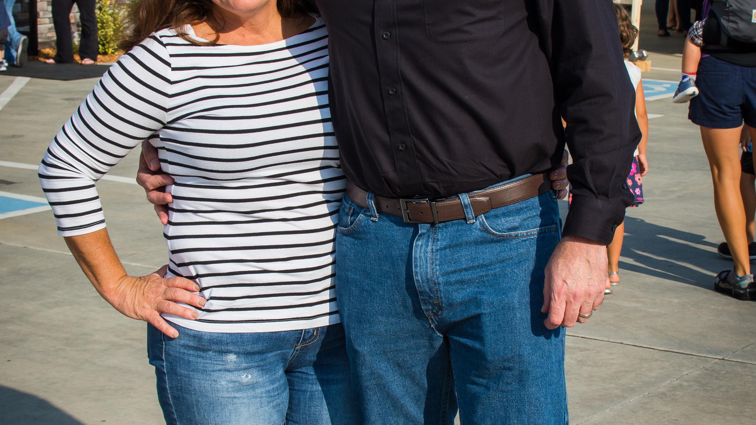 Natalia and Todd Harris