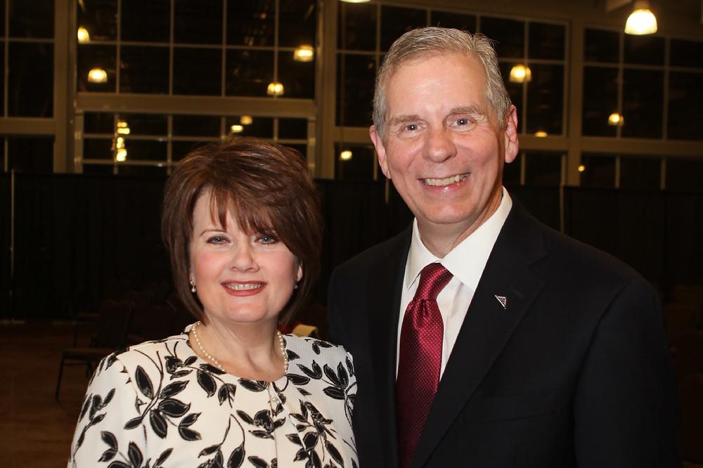 Mayor Joe & Cynthia Pitts