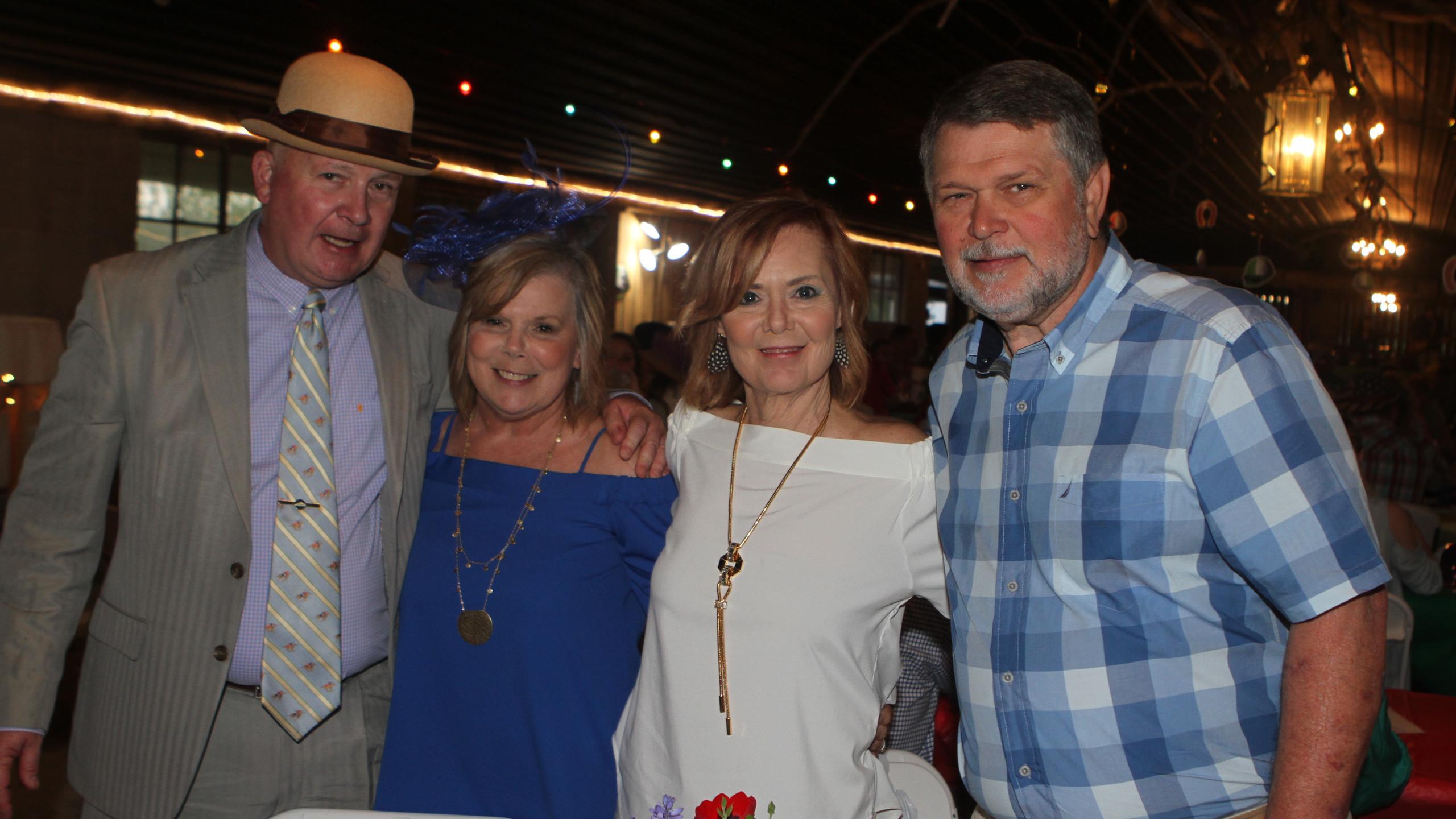 Mark & Jan Mayes, Brenda & Mike Ousley
