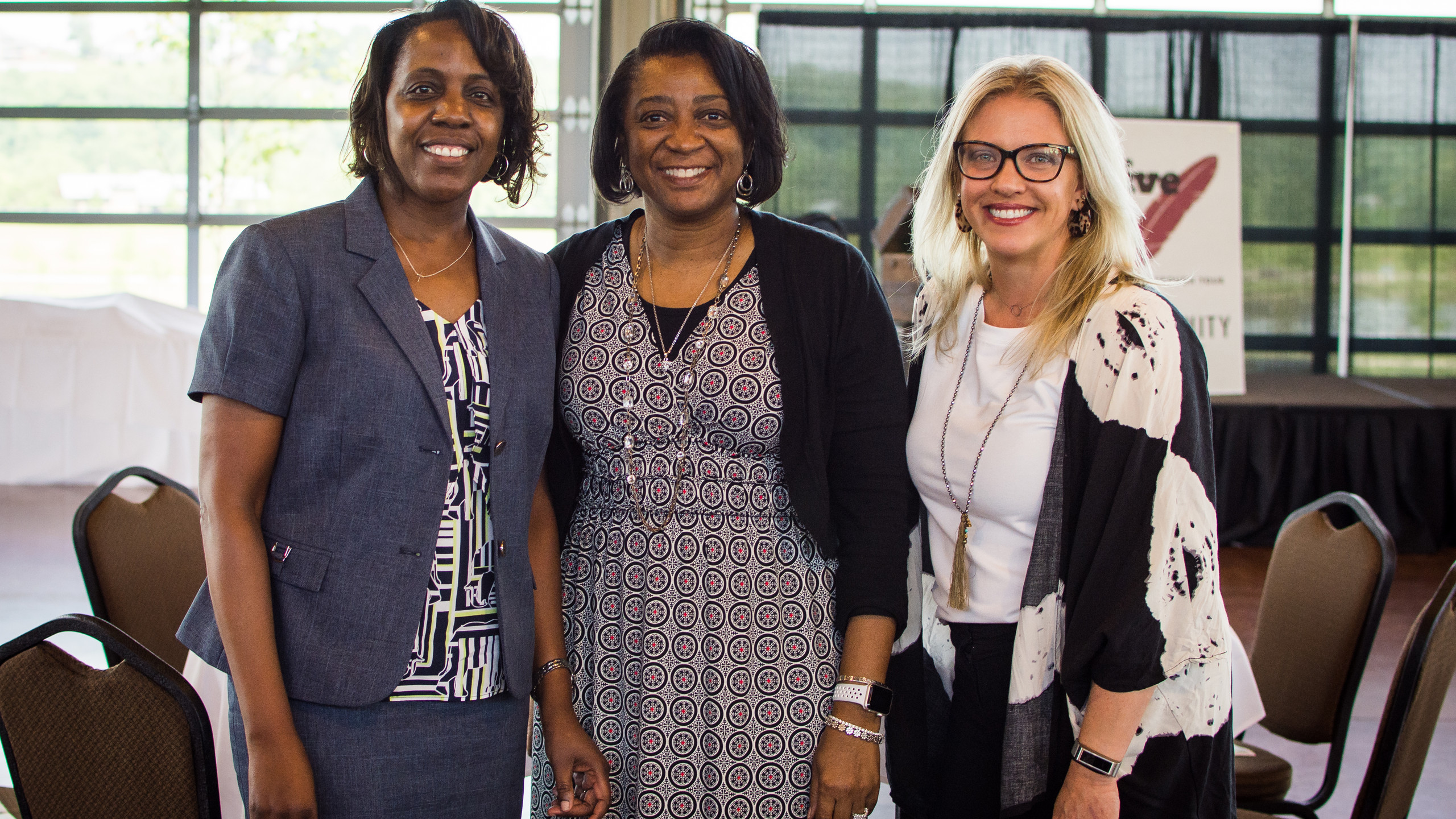 Sherry Robertson, Brenda Jones, and Erinne Hester