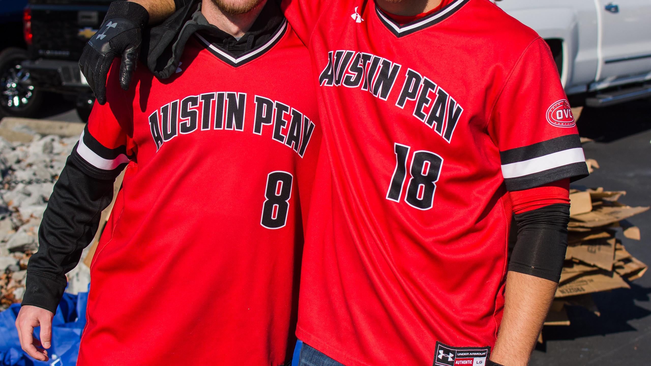 Drew Hursc and Andrew Flaherty