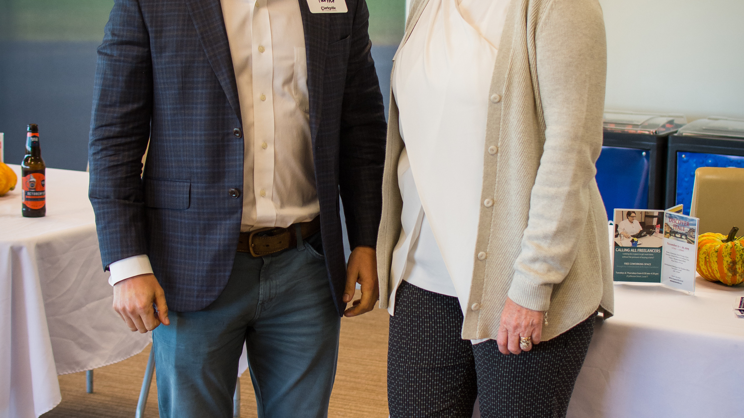 Paul Turner and Melinda Shepard