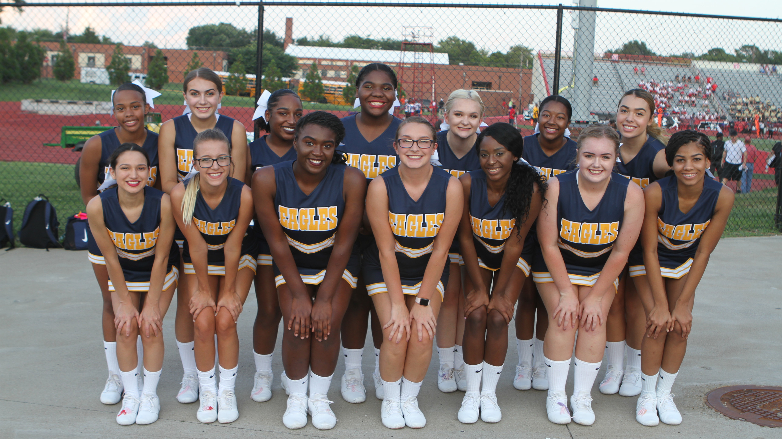 Northeast Eagles Cheerleaders 2