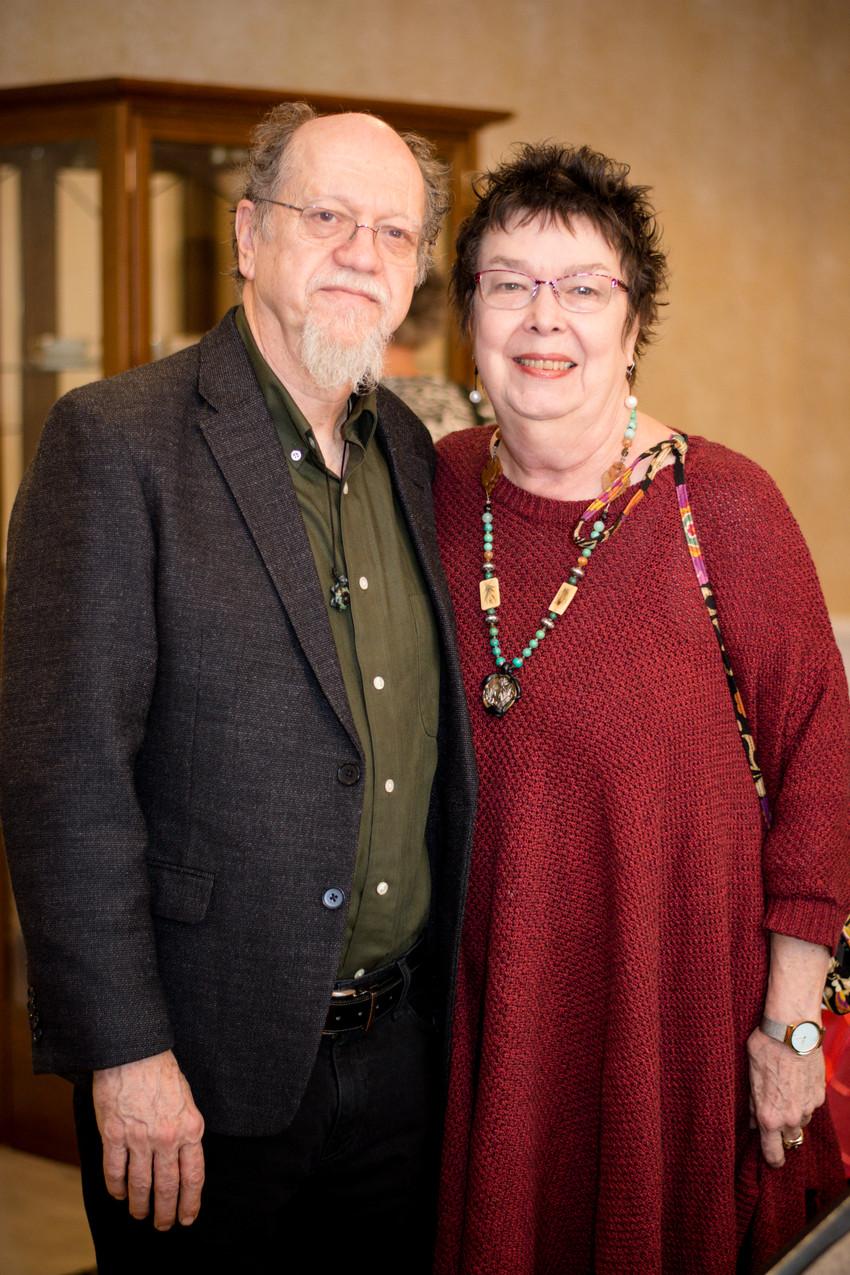 Stuart and Peggy Bonnington