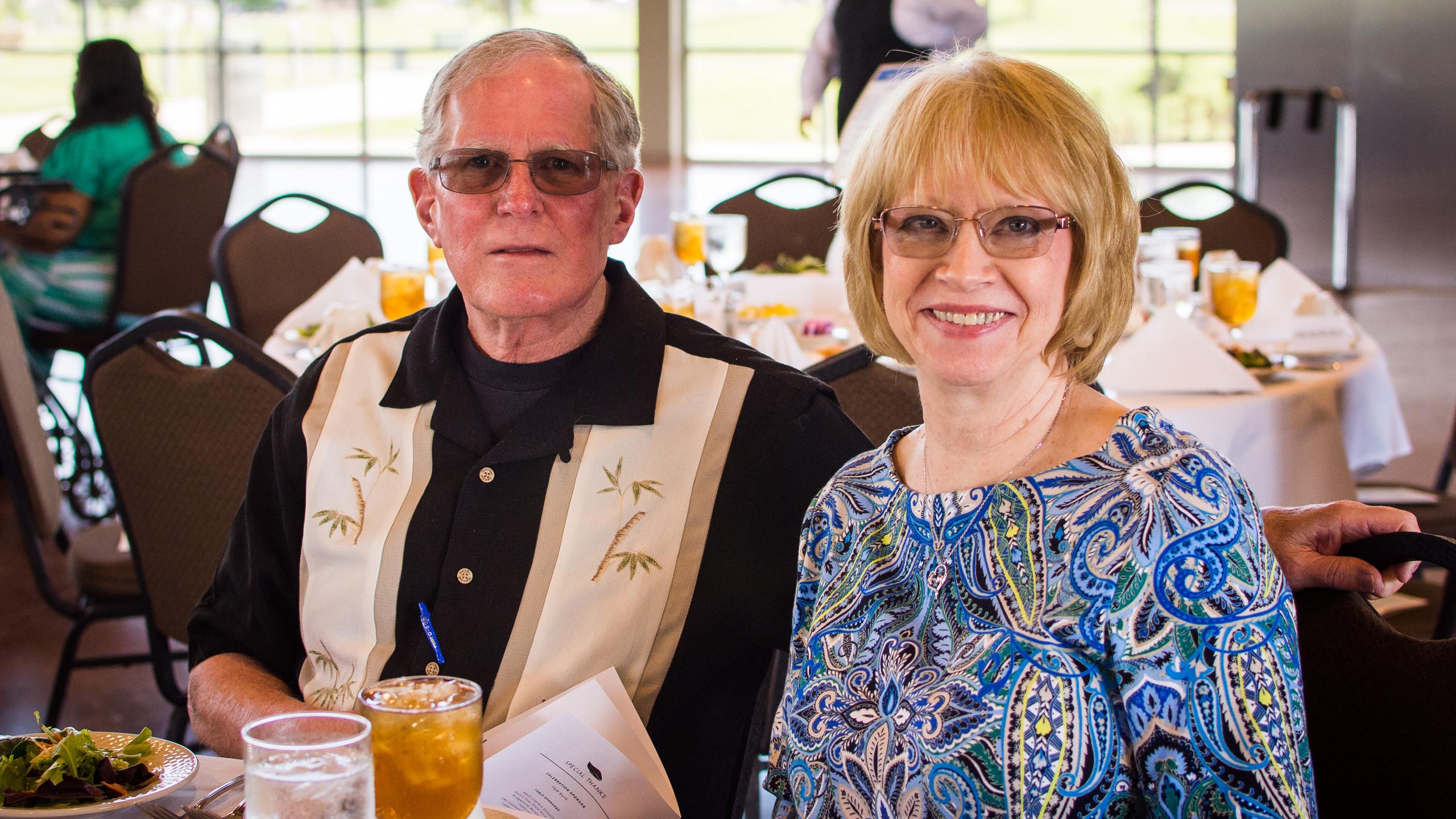 Robert Thompson and Anita Atchley
