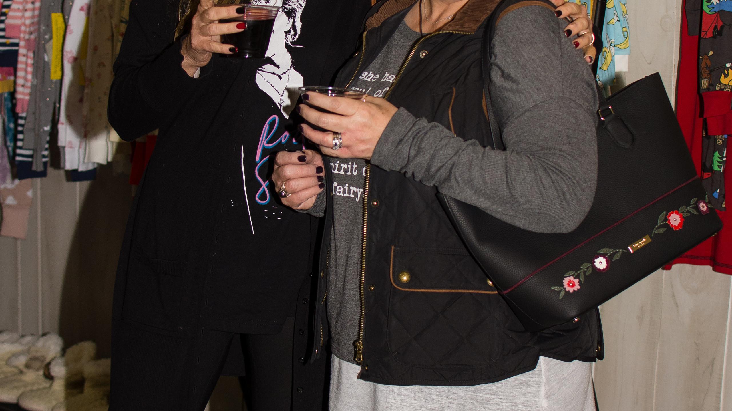 Joy Huggins and Sharon Reyman