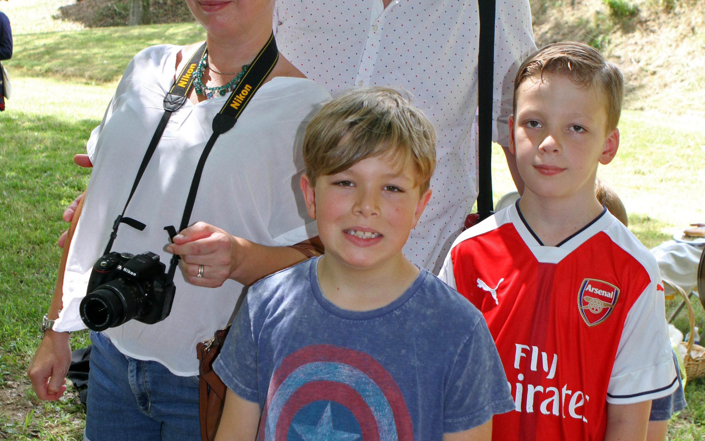 Hannah, Colin, Lucas & Oliver Walker