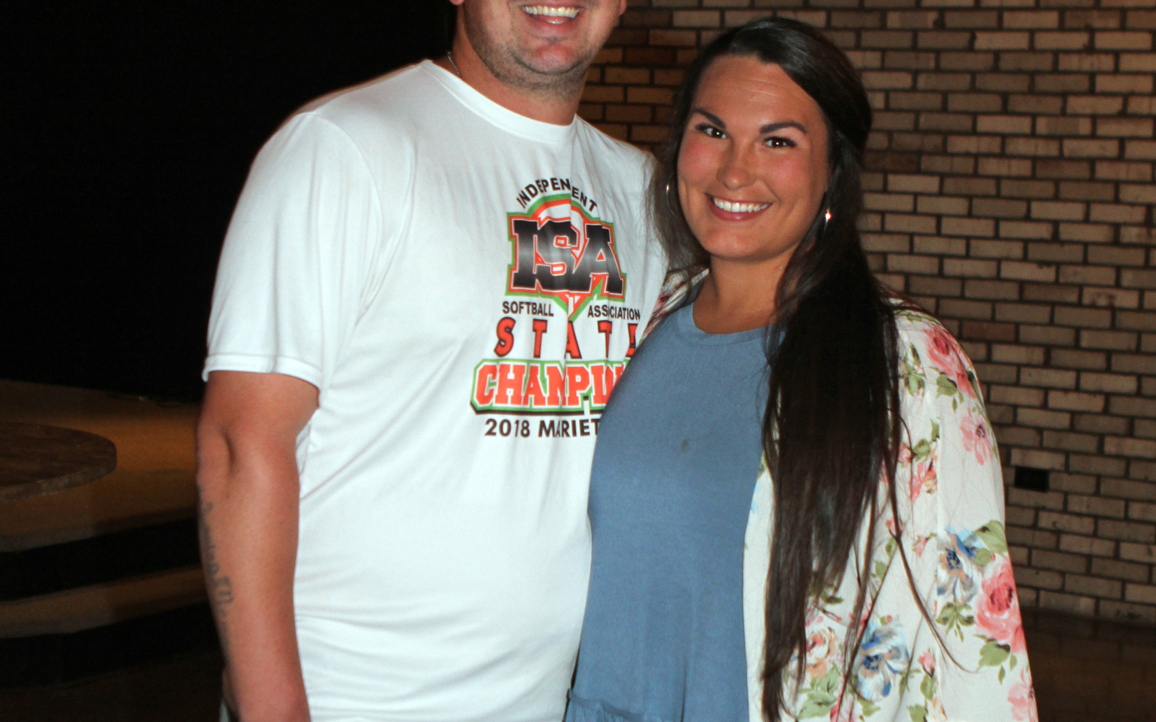 Justin Gregory, Lacey Grimes