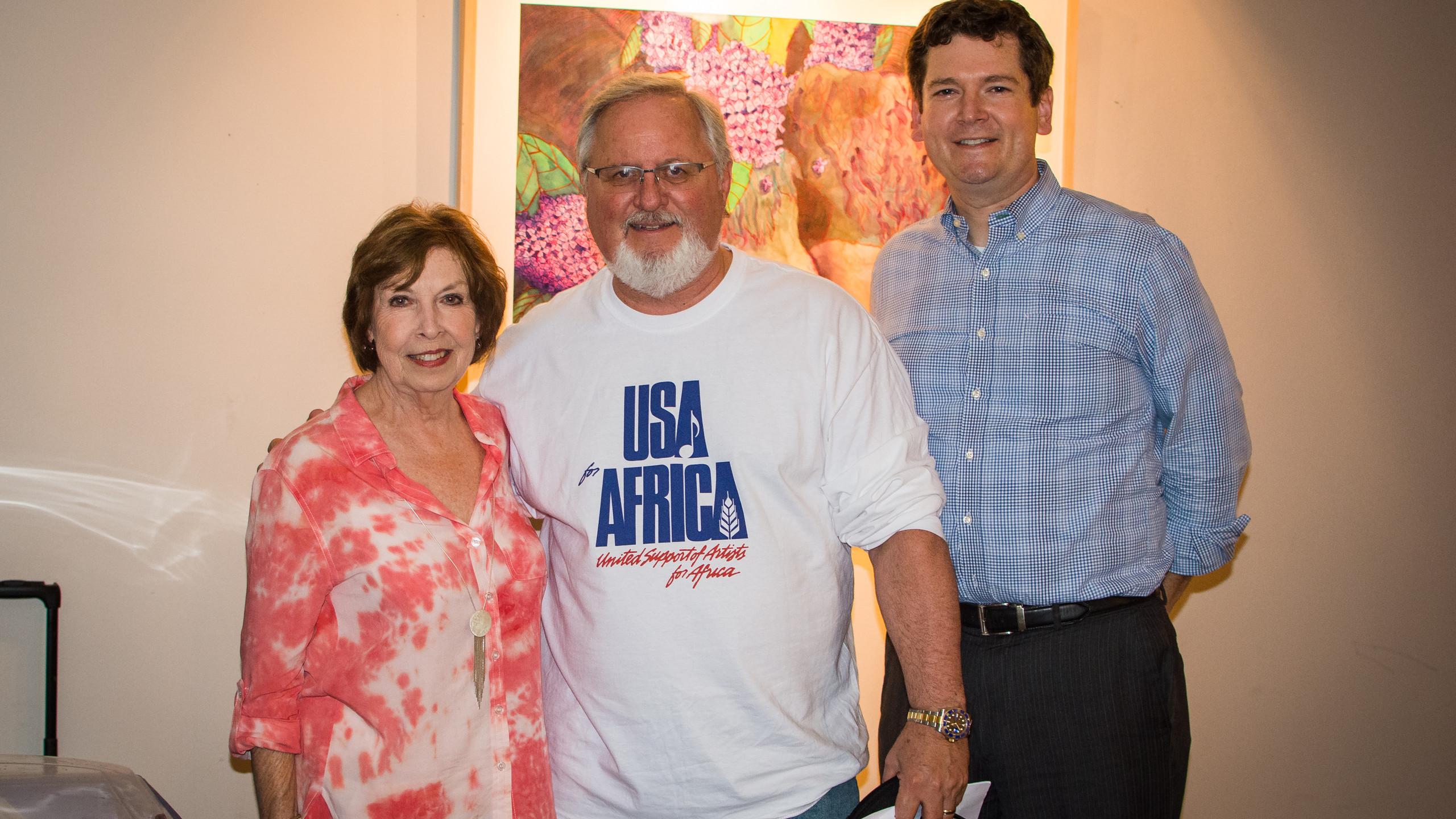 Carole Dorris, Sammy Stuard, and Joel Wallace
