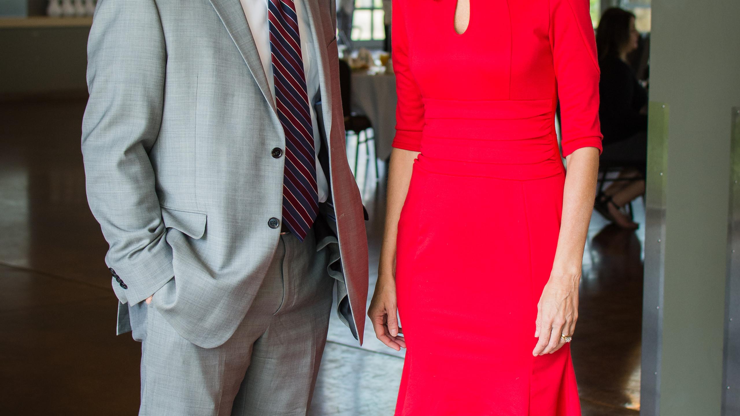 Jim Manning and Ginna Holleman