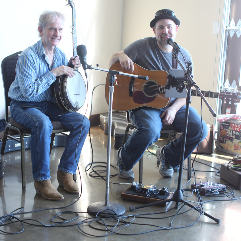 Garry Adams and Jeremy Holt