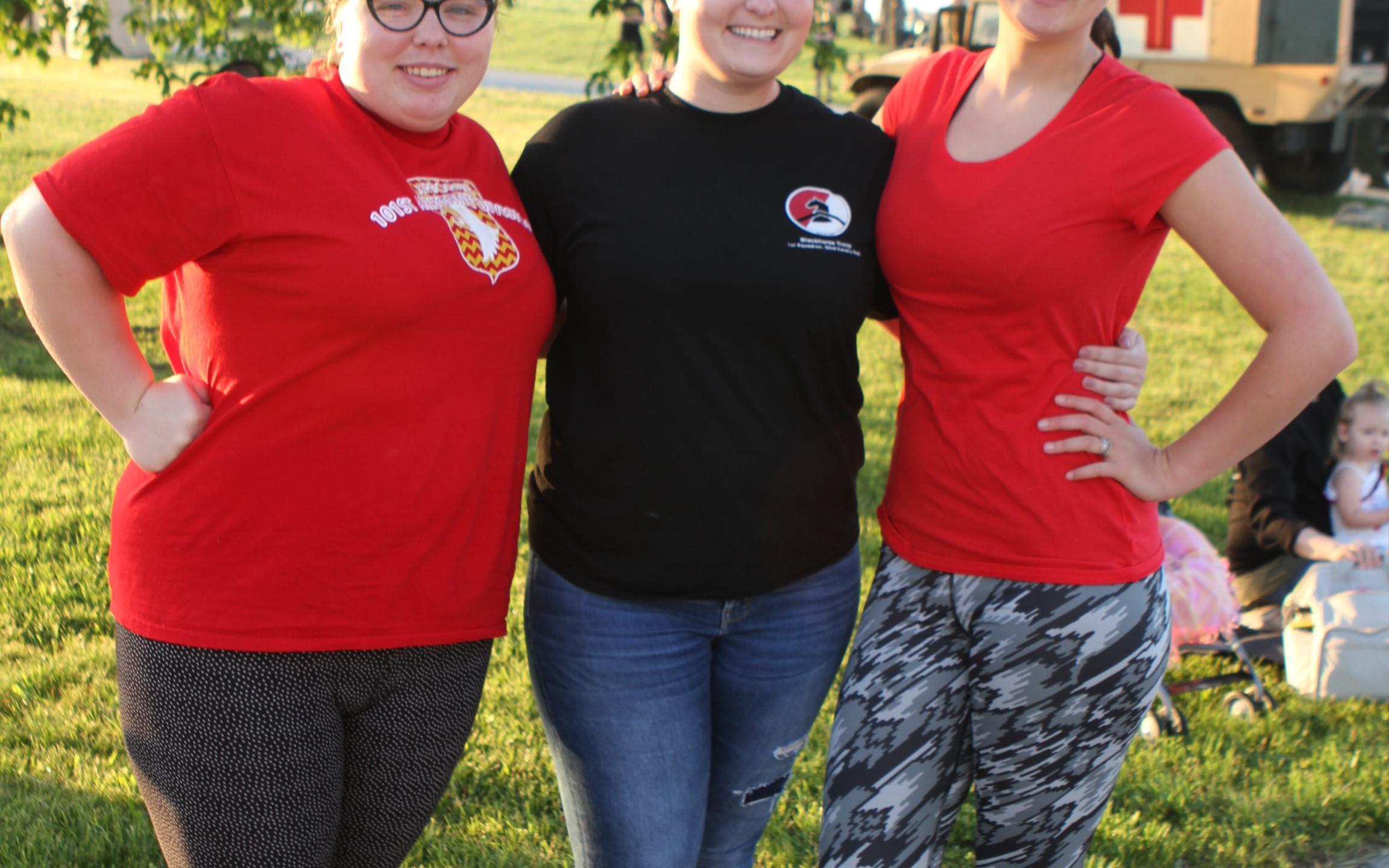 Shelby Shields, Marissa Renza, Shyanne D