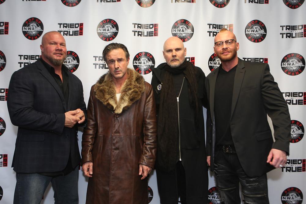 Jax Dane, David Arquette, Billy Corgan & Anthony Mayweather