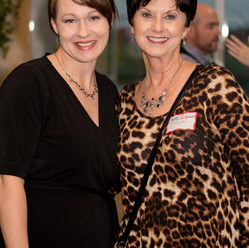 Kari Moore and Kitty Calhoun