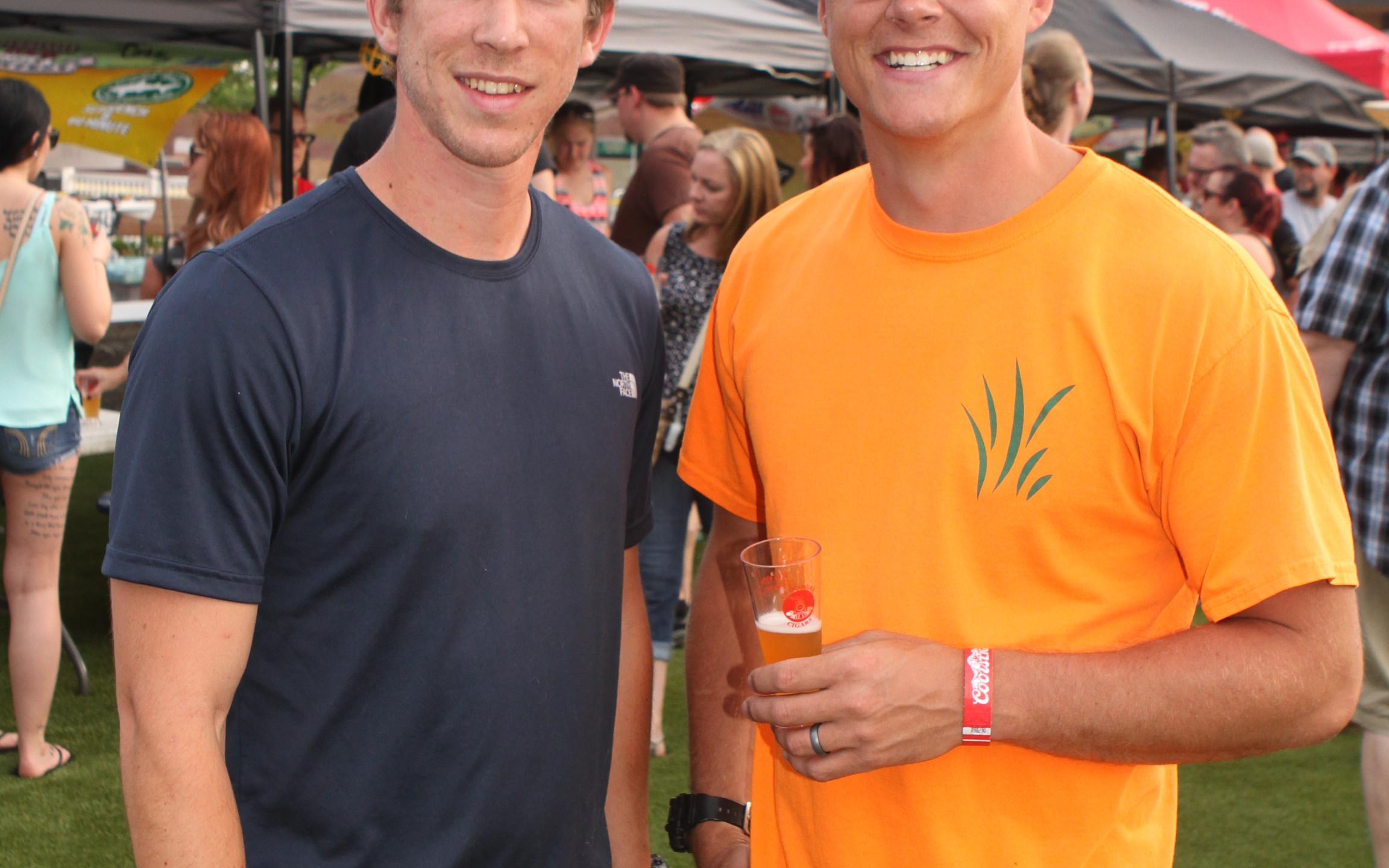 Charlie Boehms and Tyler Edlin 2