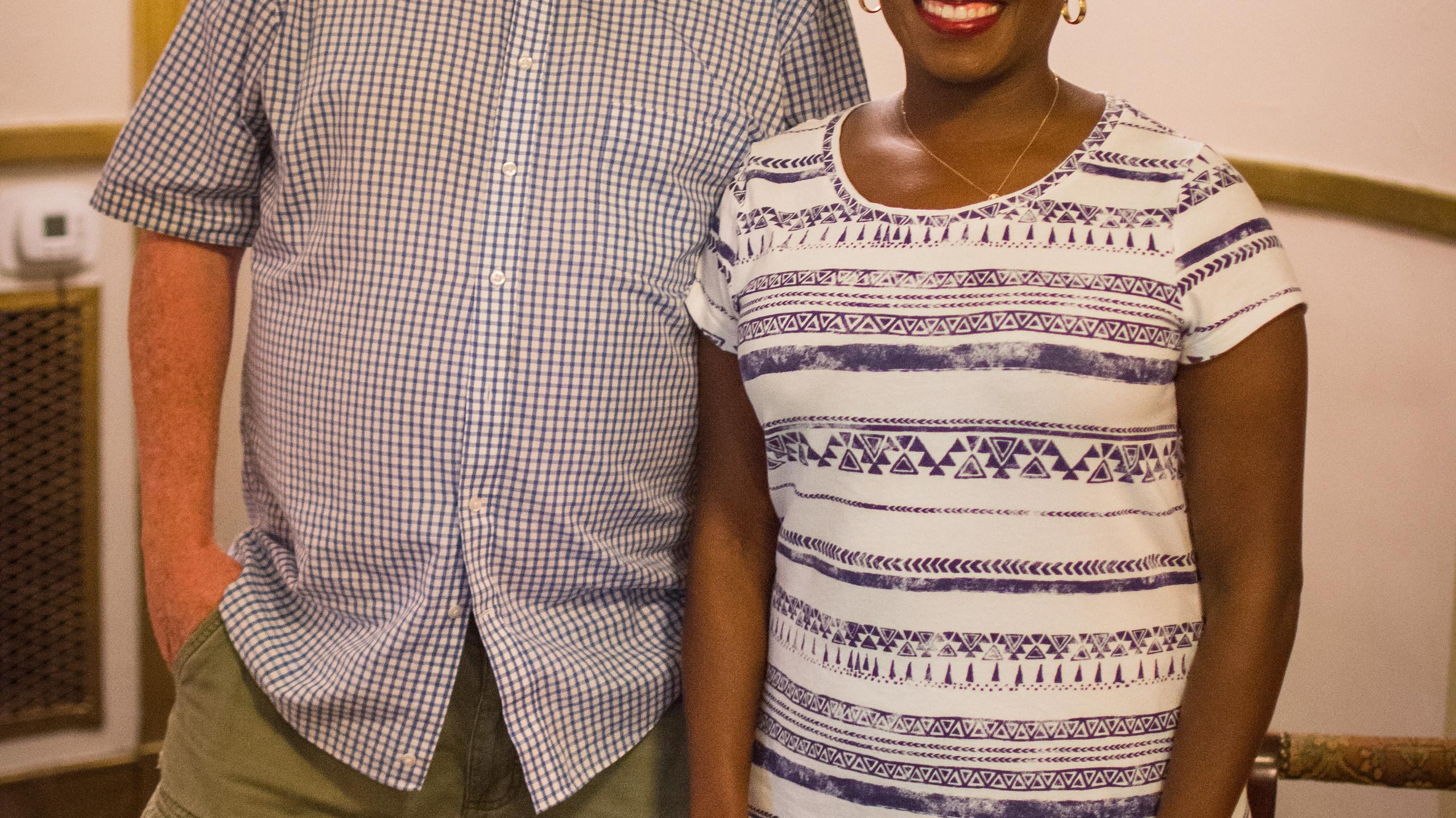 Tony Centonze and Kimberly Wiggins
