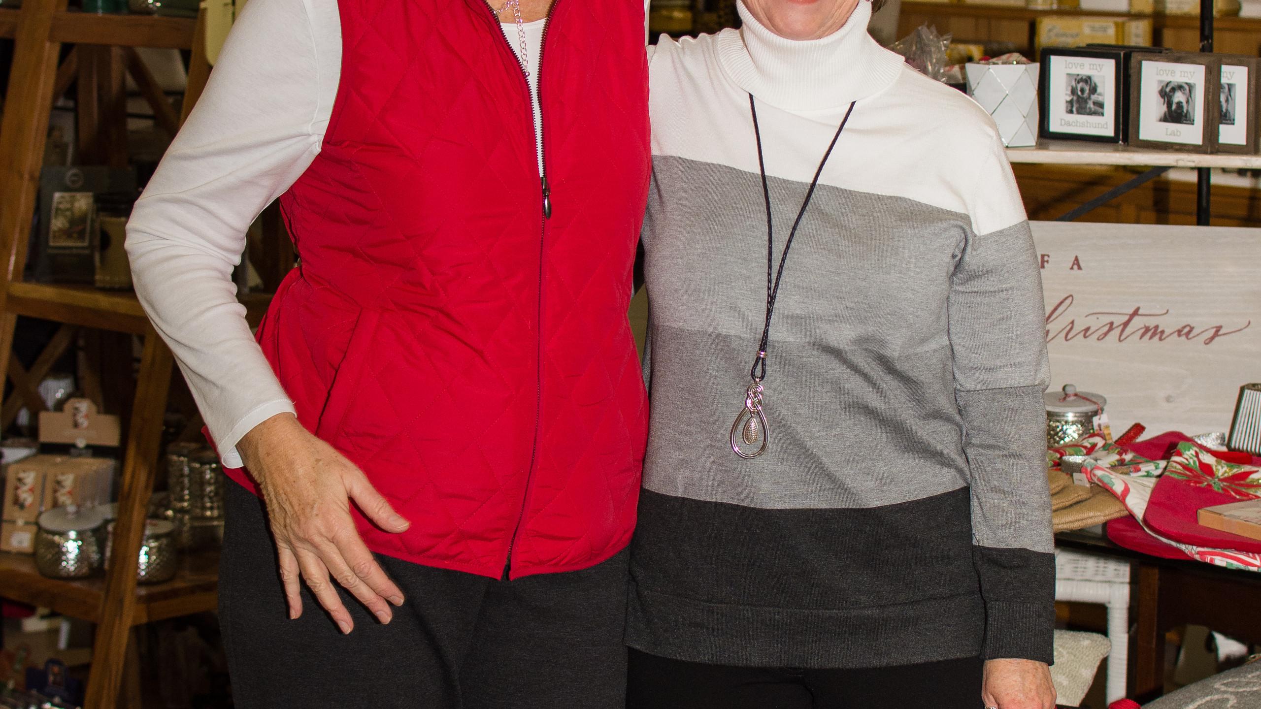 Brenda Douglas and Brenda Manseill