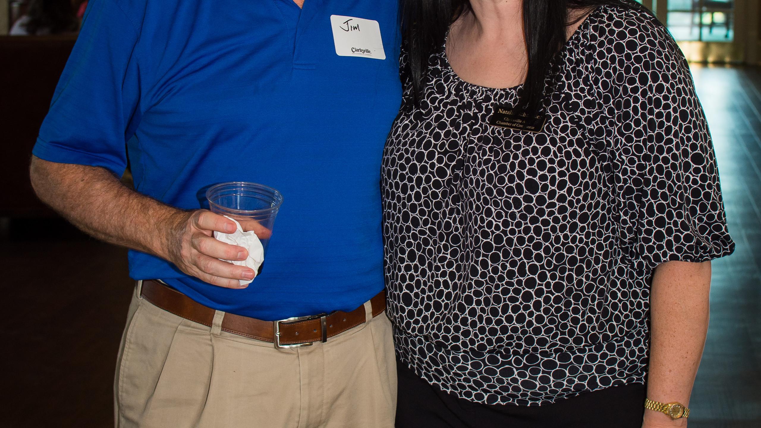 Jim Jay and Natalie Schneider