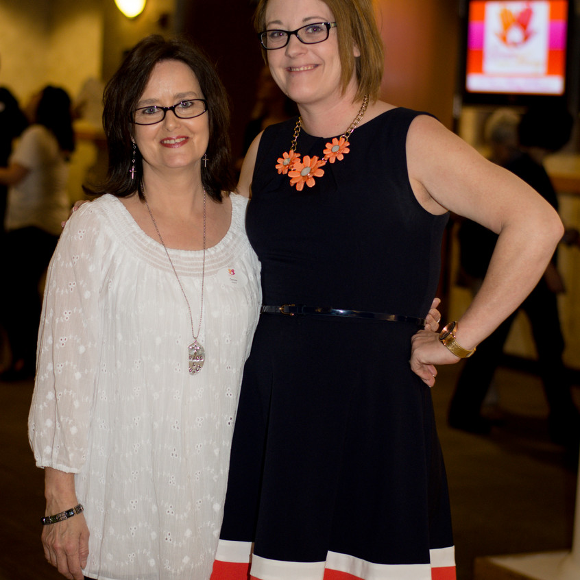 Denise Freeman and Stephanie Jones