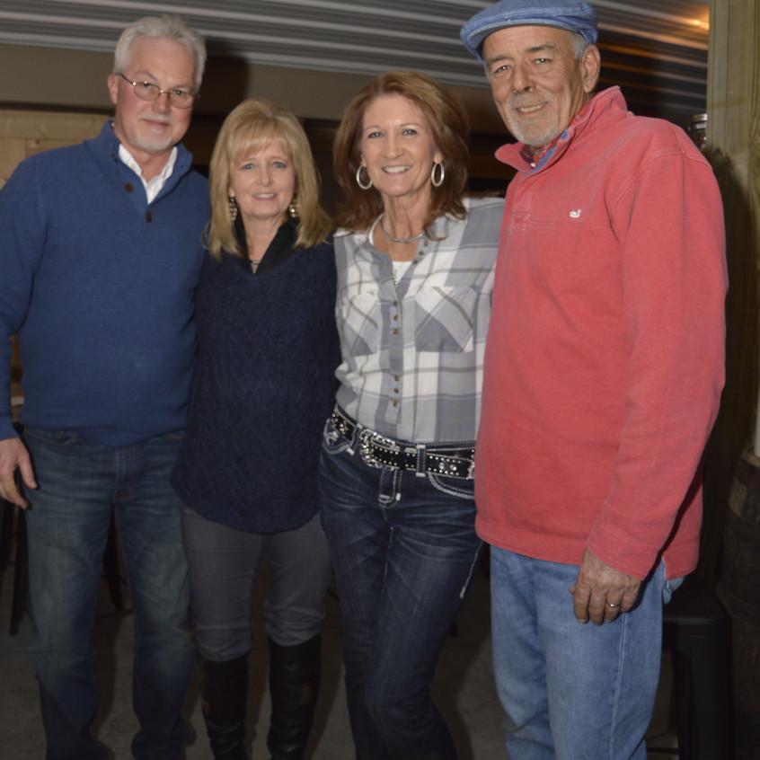 10 Joe Joiner, Cindy Joiner, Cindy Allen, Bill Allen
