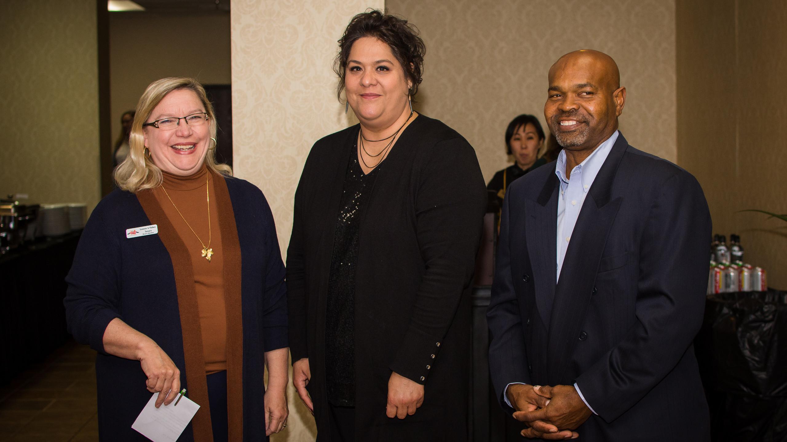 TamaraLong, Patricia Wilkinson, and Issa