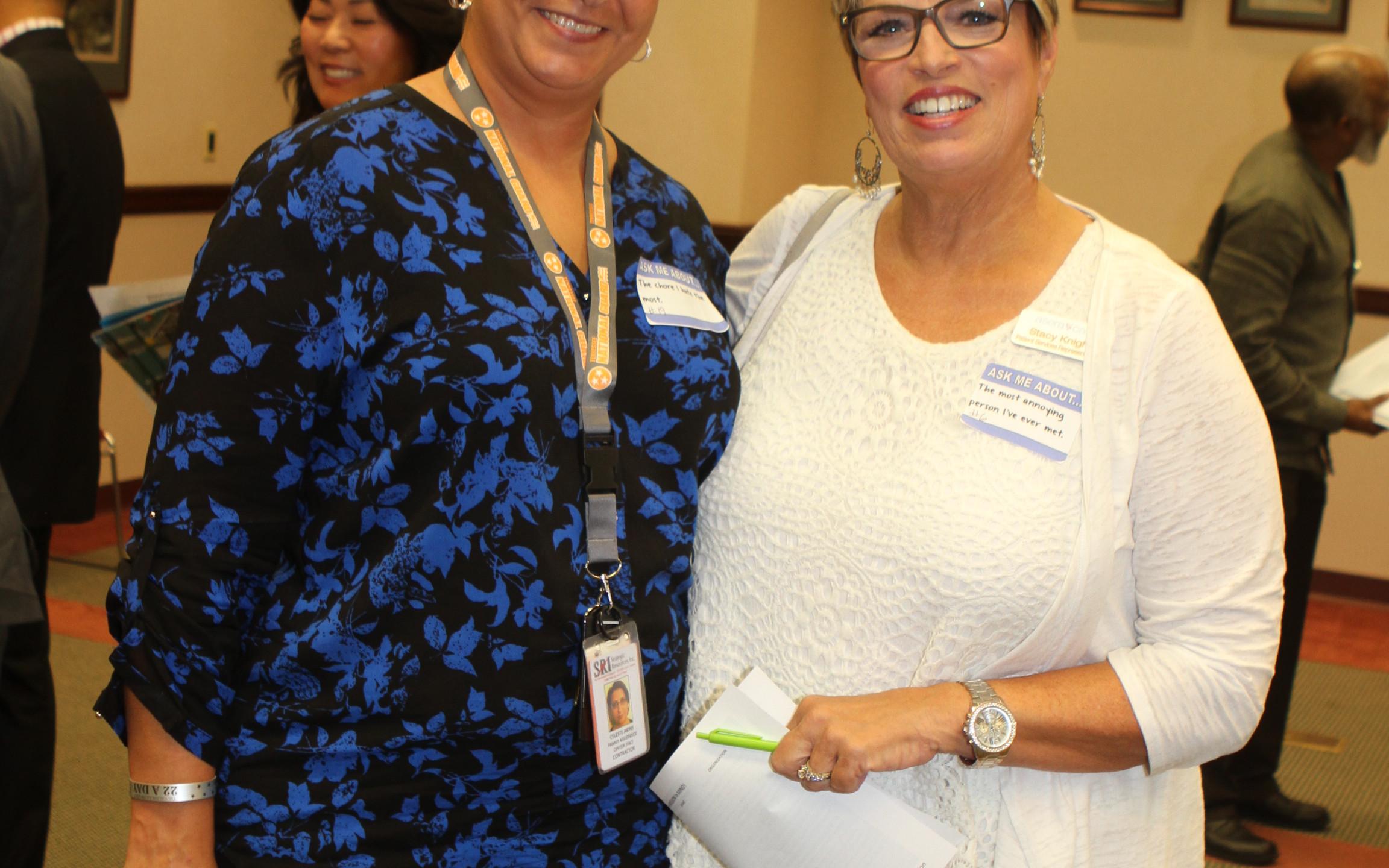 Celeste Akins, Stacy Knight