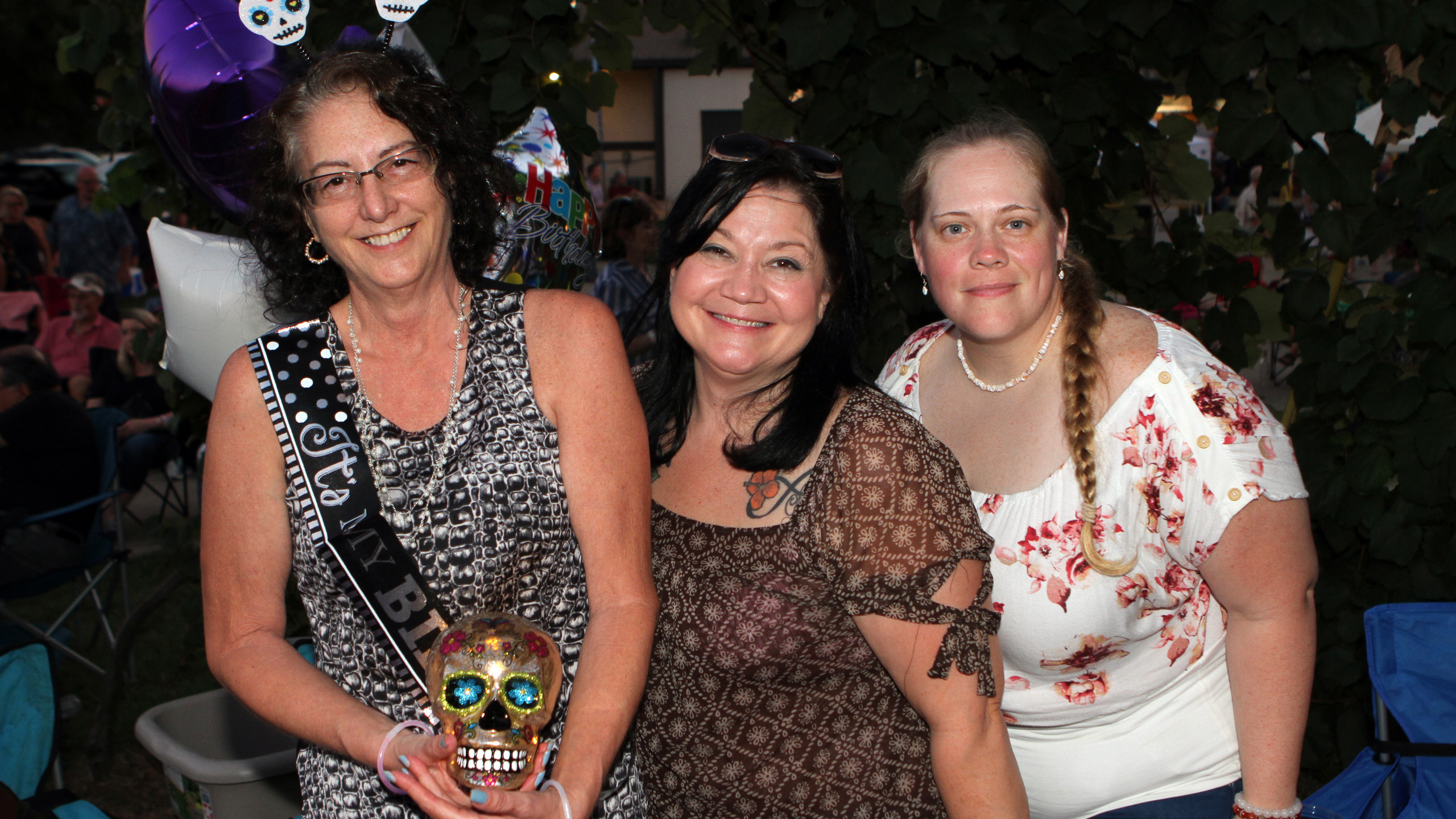 Terrie Young, Nicole Hoffer, April Bruce