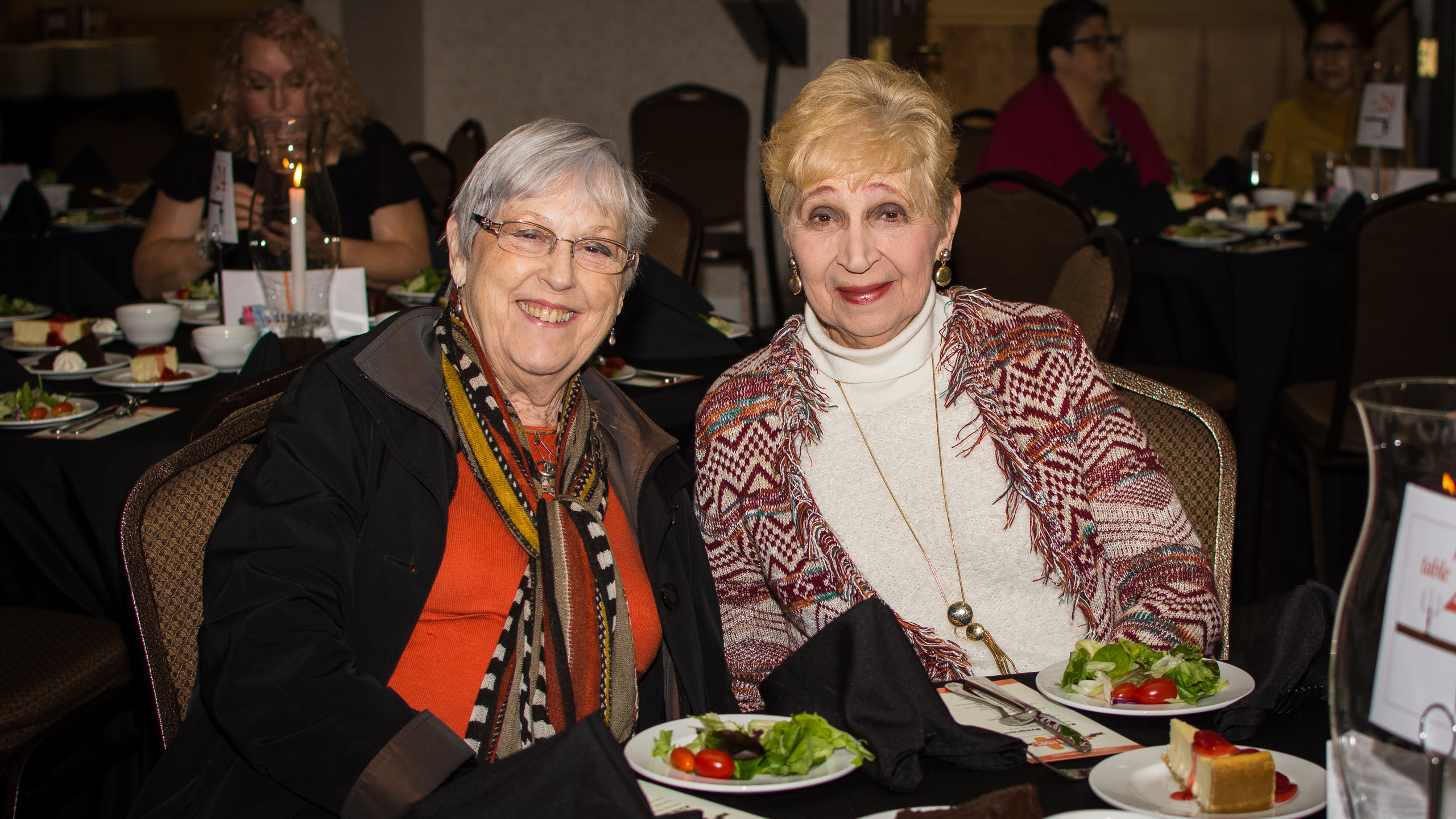 Diane Ivey and Barbara Wills