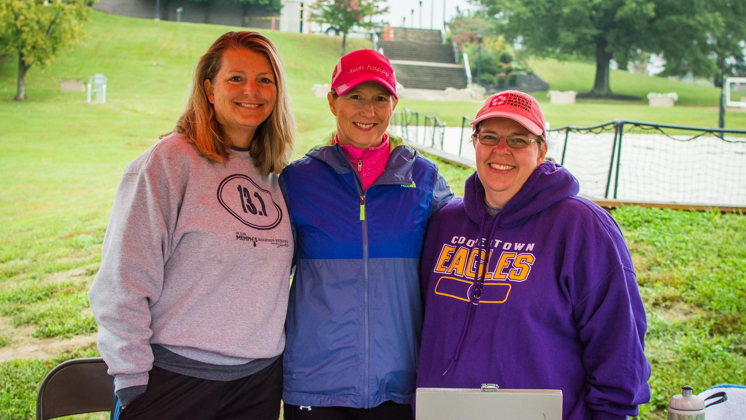Rachel Fitzgerald, Donna Pittman, and Kr