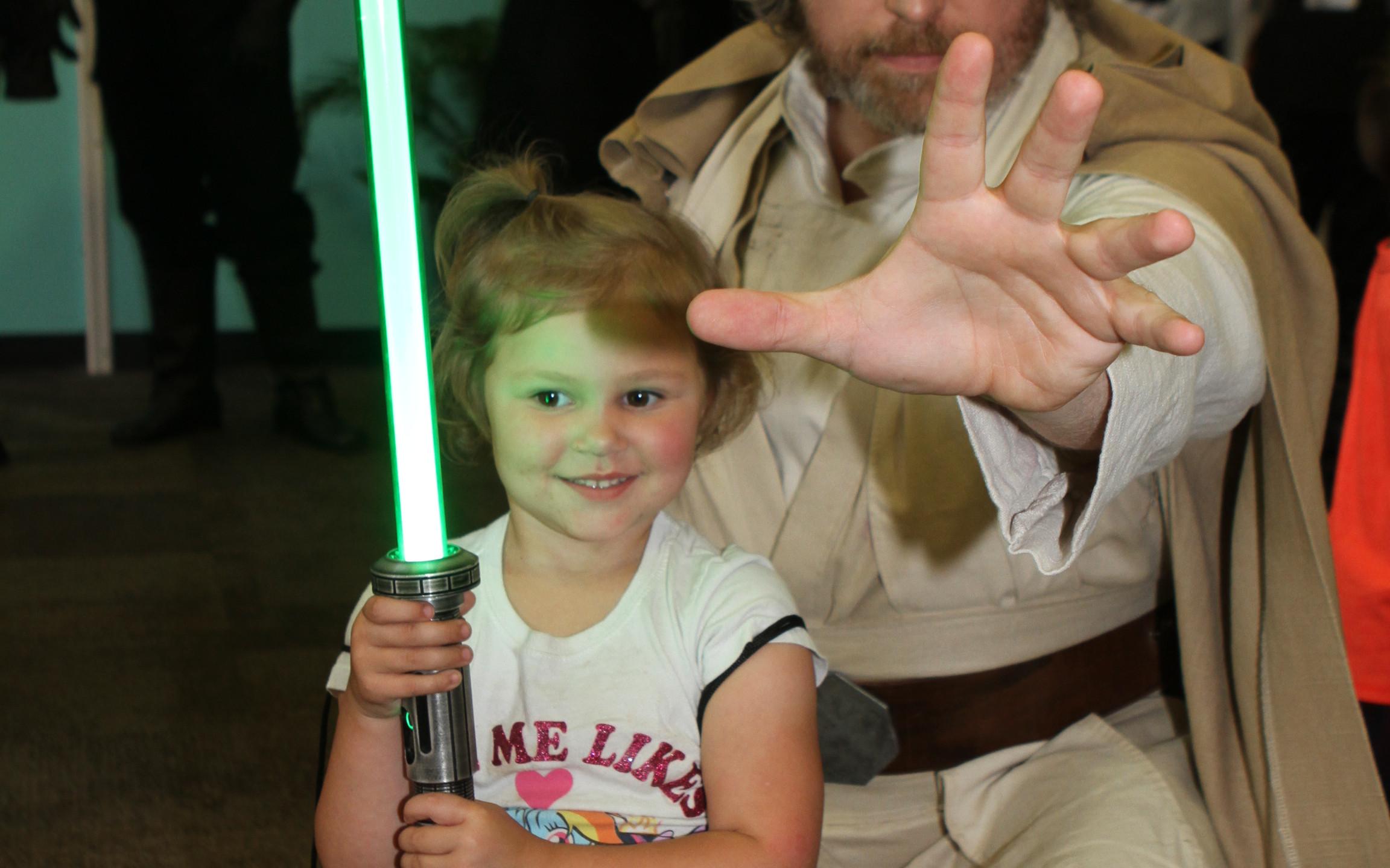Cailey Stuart, Luke Skywalker