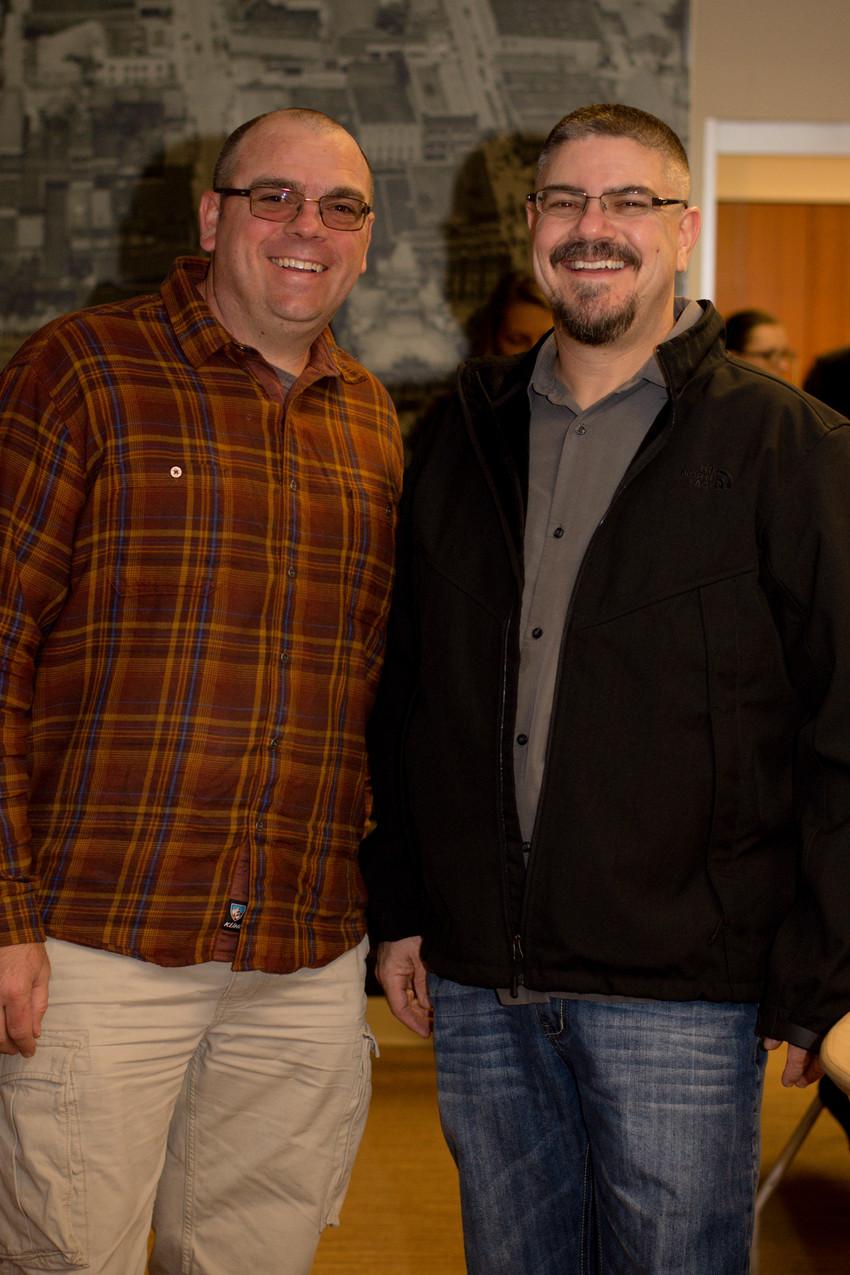 Ryan Dennis and Pete Mullen