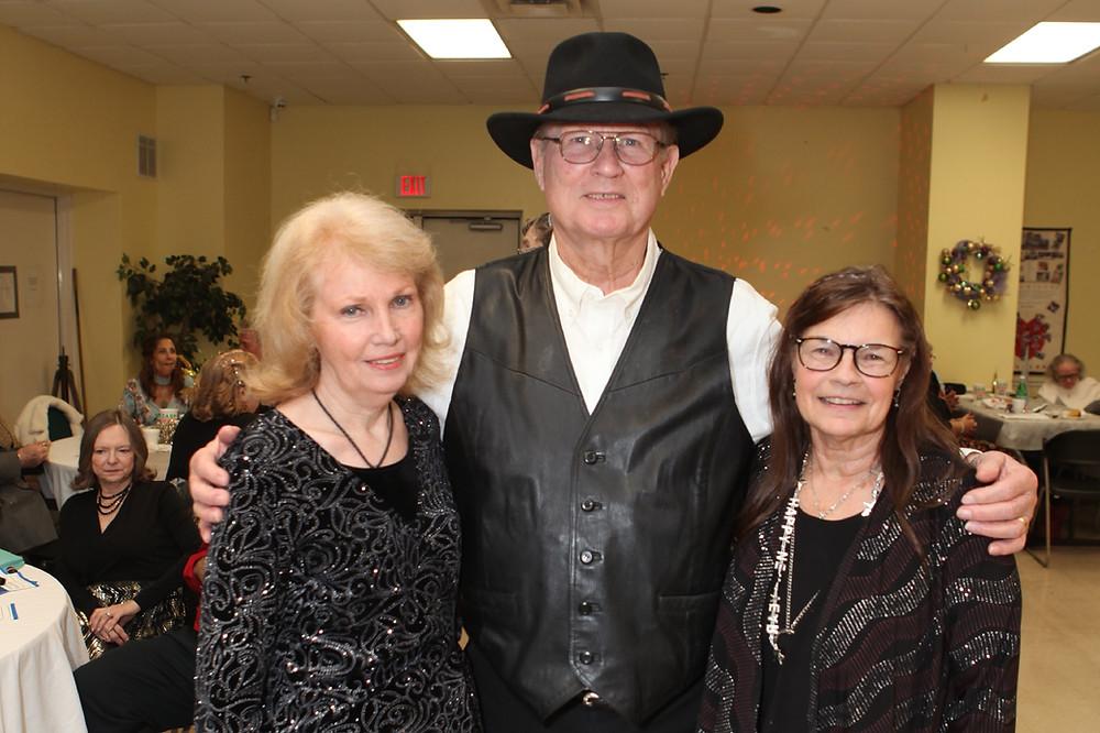 Mary & Ron Izzatt, Susan Oliver