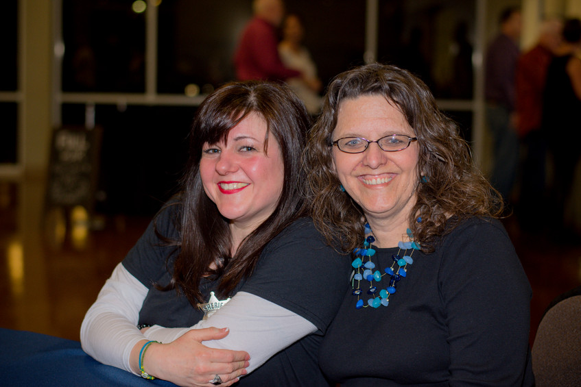 Sybilla Walther and Fran Staley