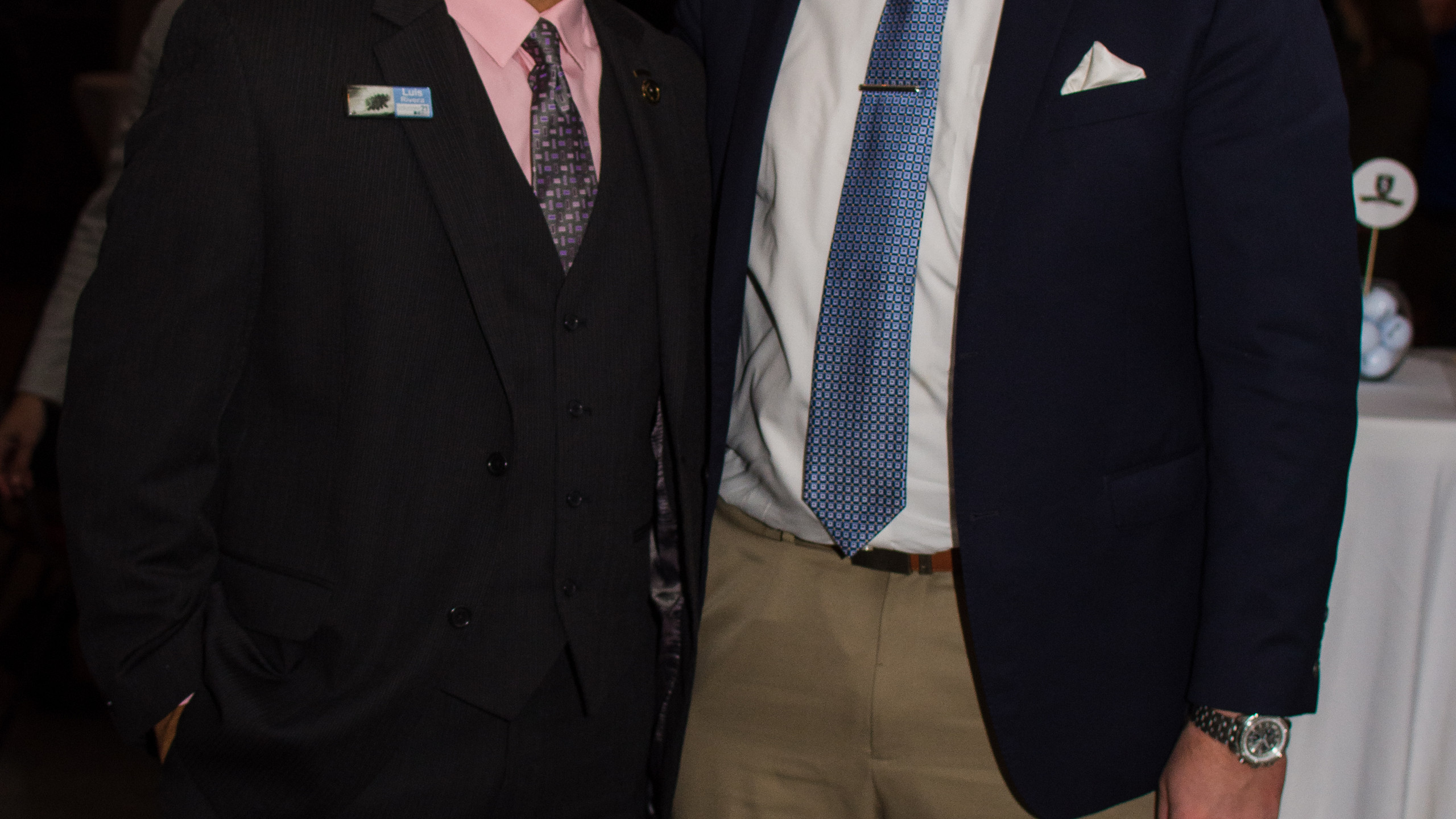 Louis Rivera and Stephen Hofmiester