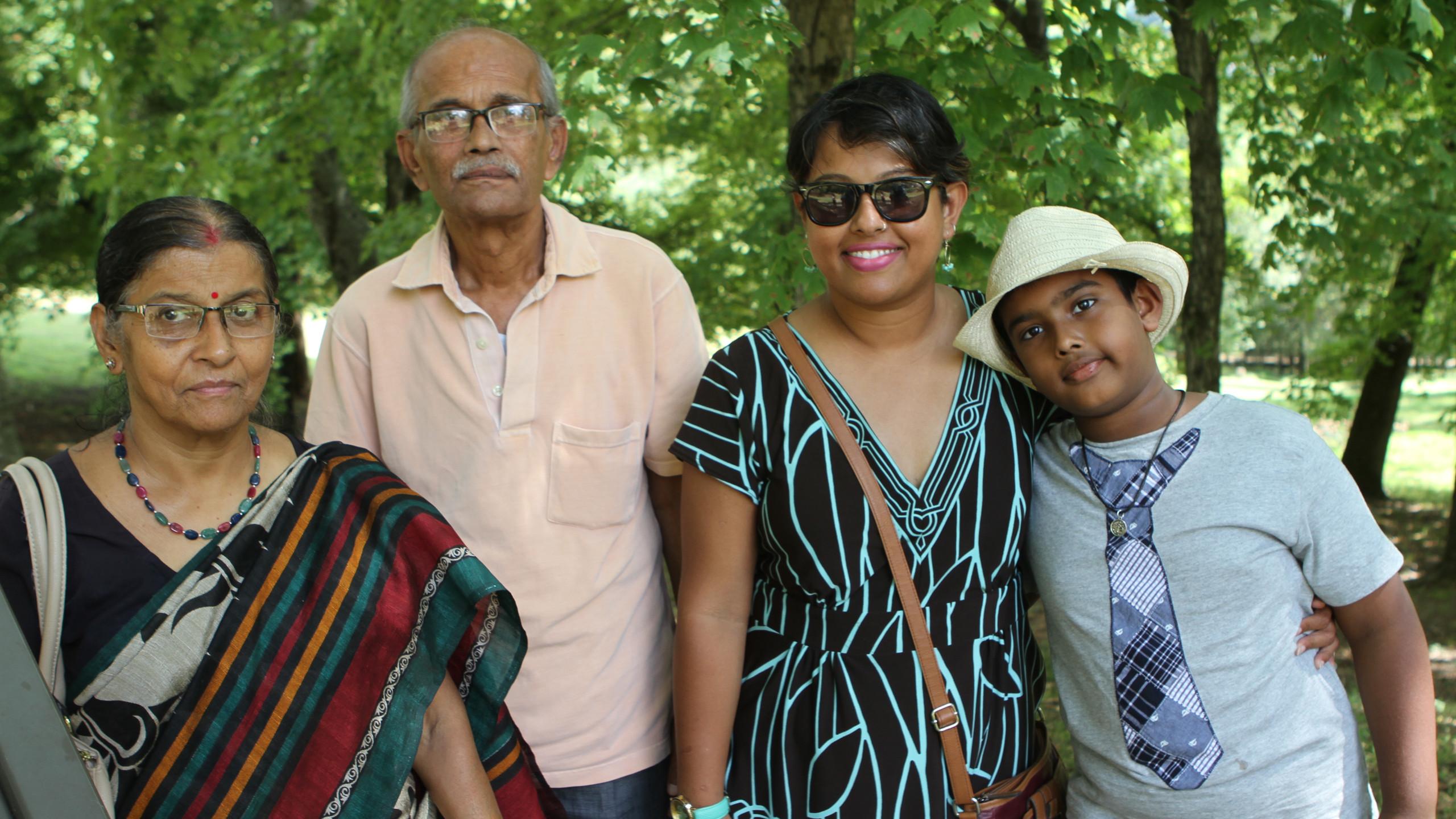 Sibani & Bimales Dhadtacharya, Kakali &