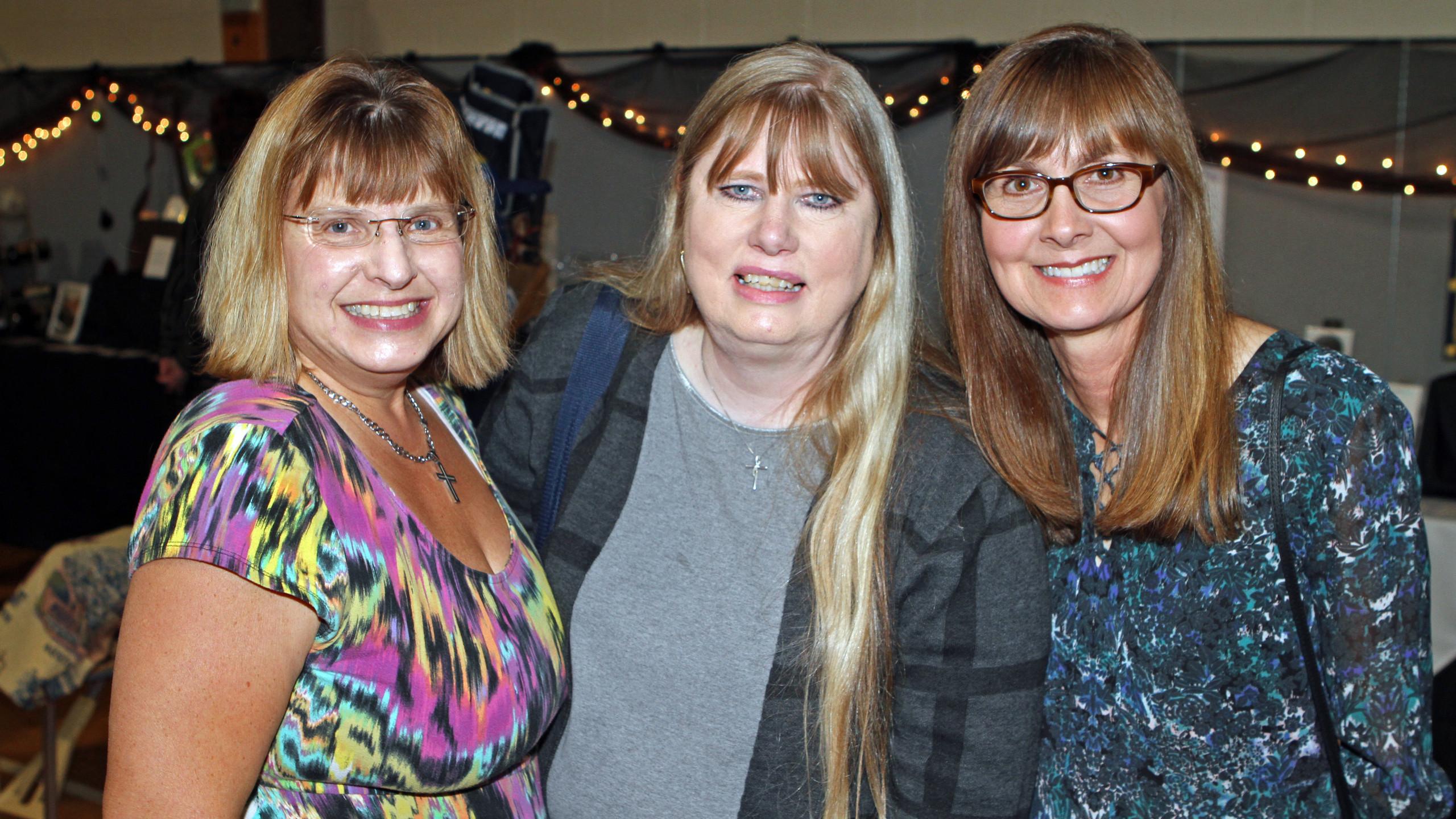 Christa Bunjor, Patricia Doyle and Chris