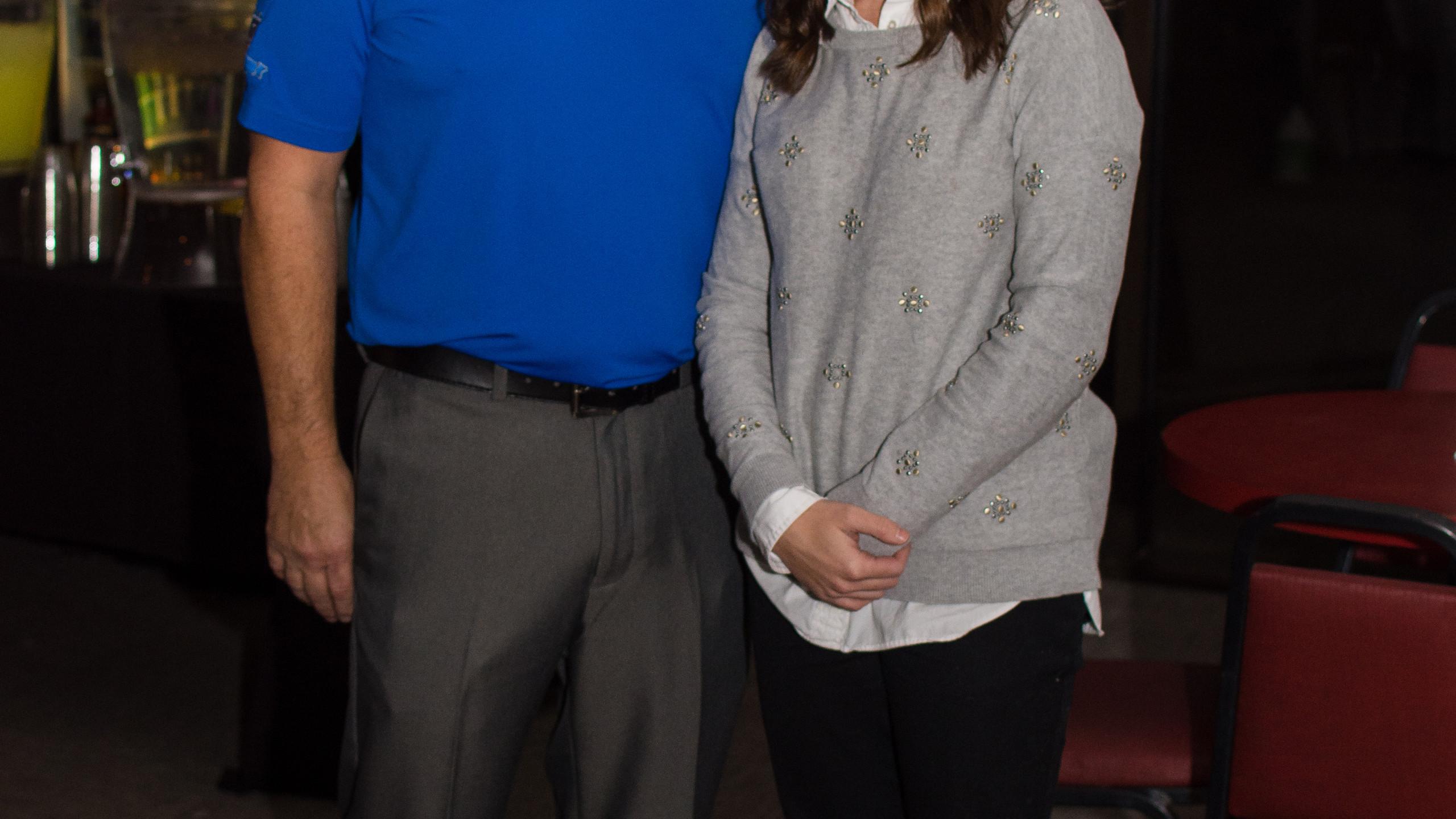 Brad Damron and Kara Zahn