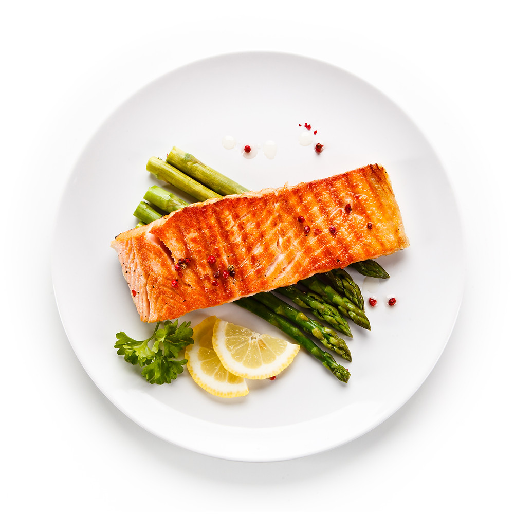 Salmon Asparagus Foil Pack