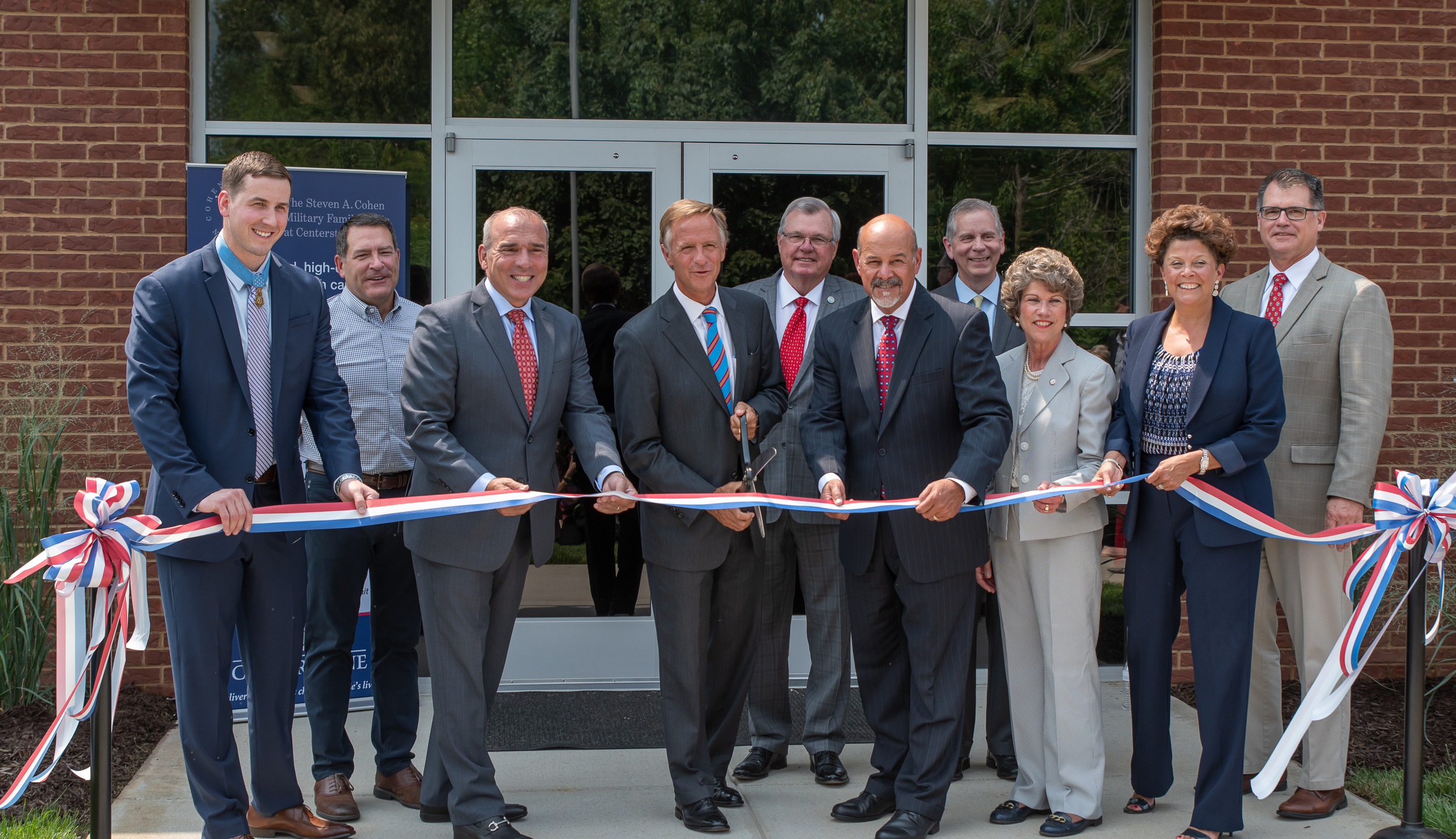 Ribbon cutting ceremony led by Governor