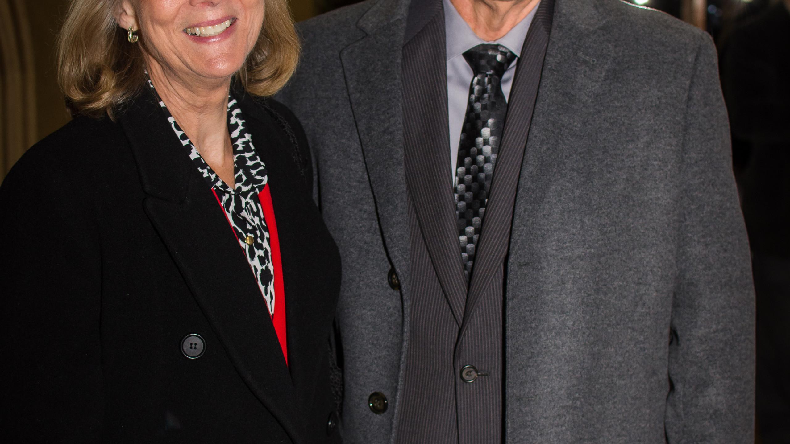 Charles Hood and Diana Simmons