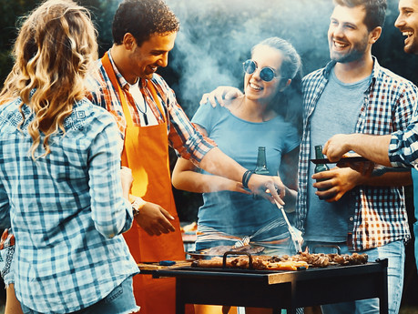The Art of Living: Manning the Grill