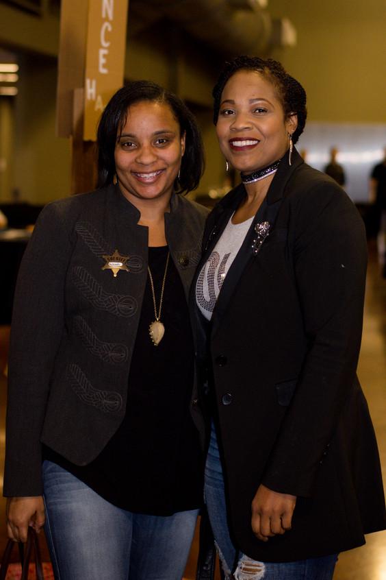 Rashanda Mcdonald and Yolanda Davis
