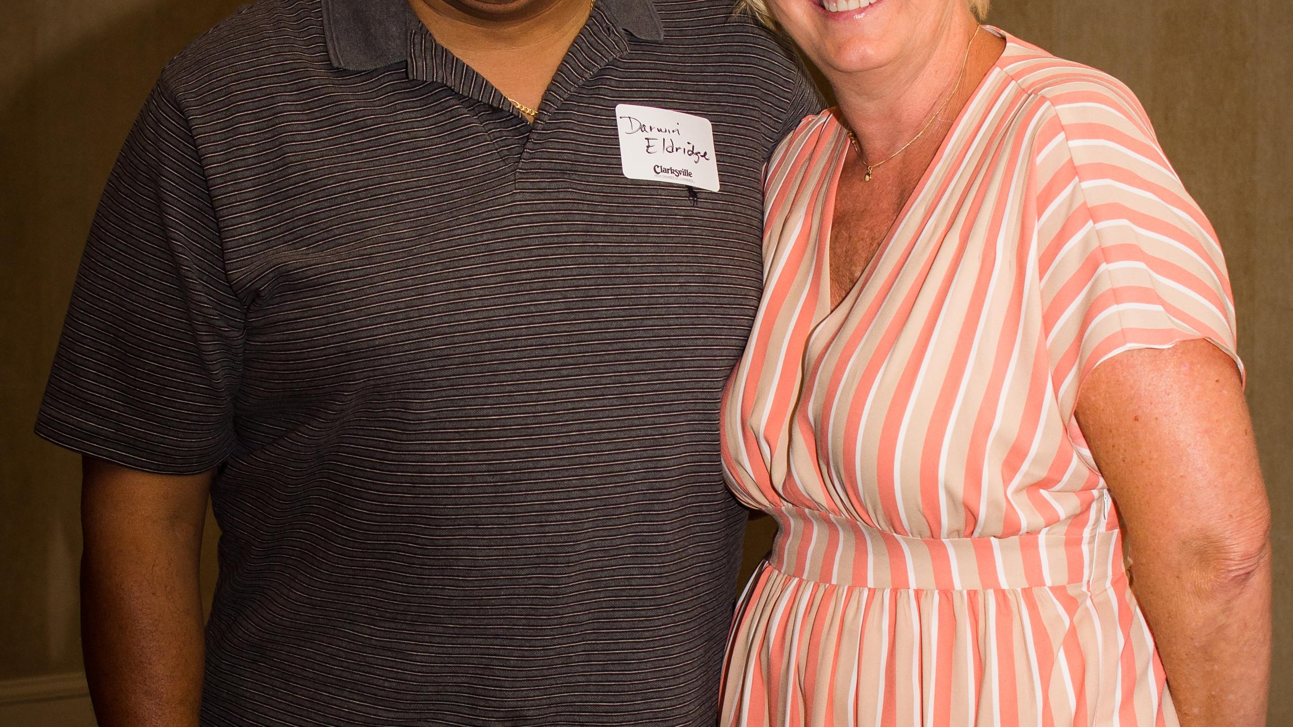 Darwin Eldridge and Melinda Shepard