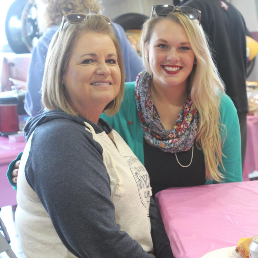 Faye ANderson and Katy Hagstrom